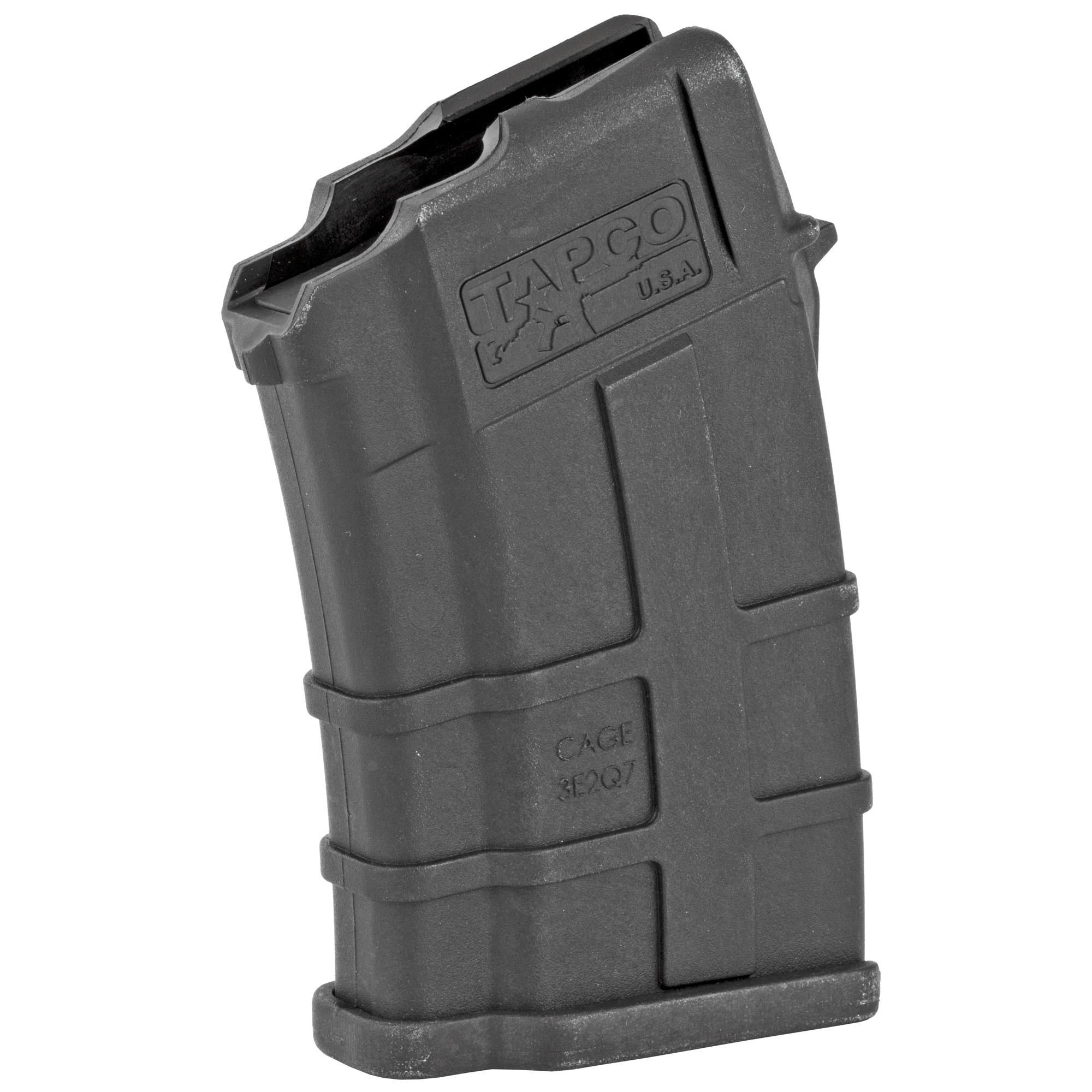Can't find a rugged and reliable low capacity AK mag? The Tapco 10rd AK-74 Magazine is your answer. The reinforced composite material prevents corrosion while the heavy duty spring and anti-tilt follower ensure that every round will feed perfectly. Fits the AK-74 using 5.45X39mm ammunition. Not to mention that it counts as 3 U.S. 922r compliant parts.