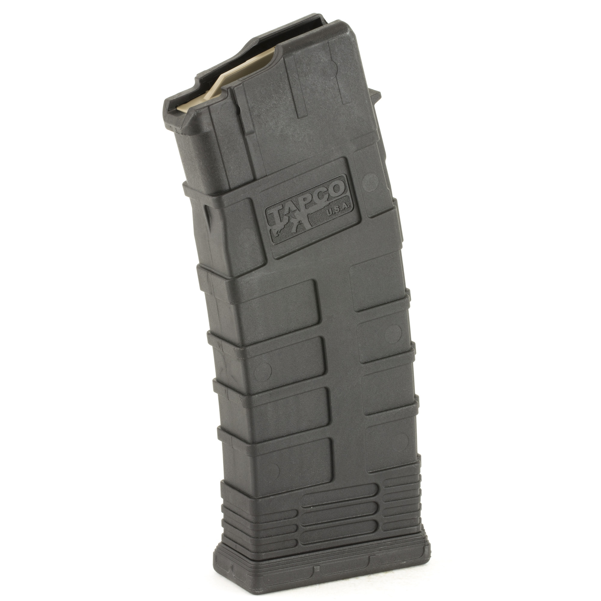 "This magazine is made of reinforced composite"" a heavy duty stainless steel spring"" and an anti-tilt follower. The inclusion of these high quality parts will ensure that once you've bought the Tapco Galil mag"" you won't have to go searching for another for years to come. Plus"" it counts as 3 U.S. 922r compliant parts."