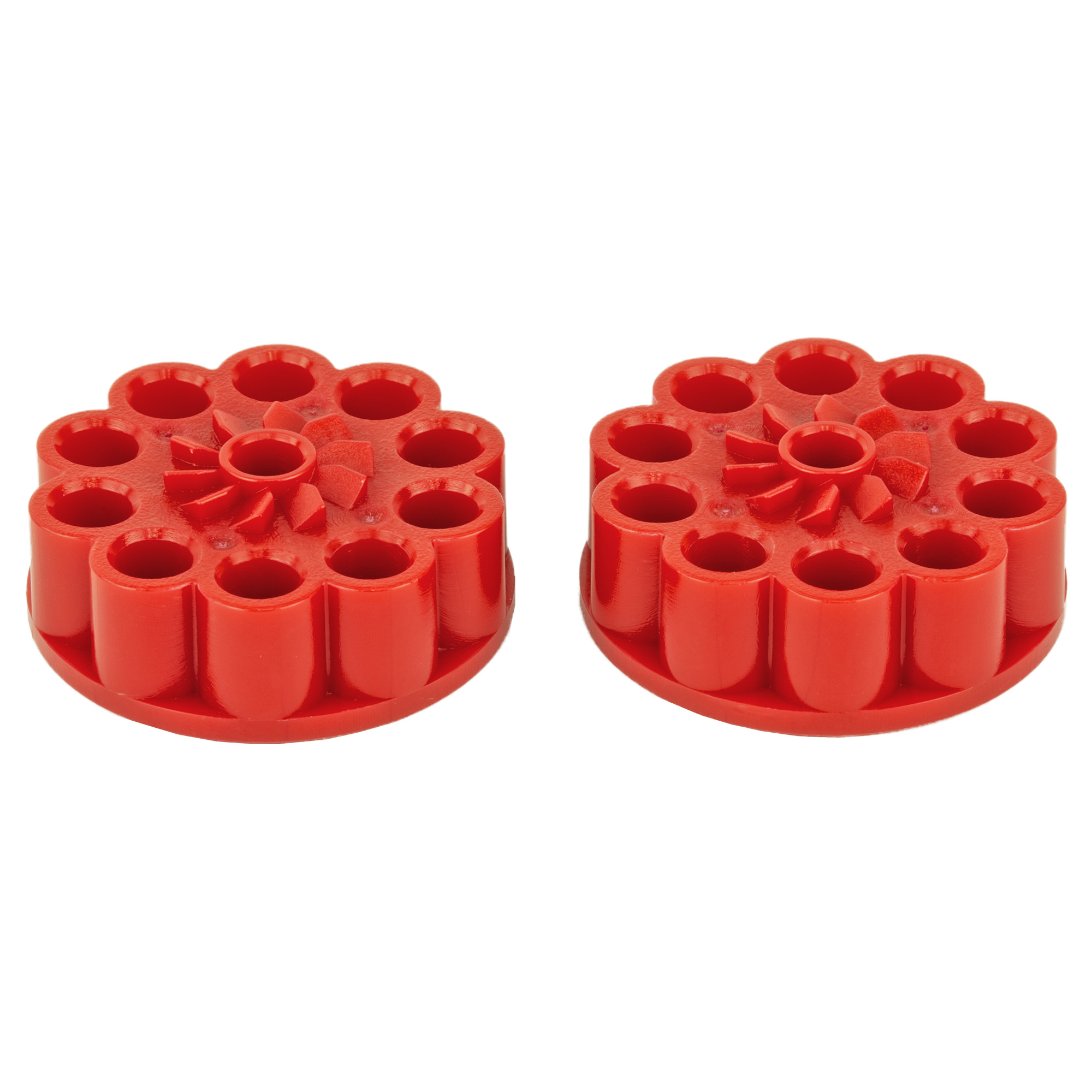"This 2-pack of 10-shot rotary magazines for the Ruger 10/22 Air Rifle comes in handy when all you want to do is get in some trigger time. These .177 caliber pellet magazines are sold in a two-pack to offer shooters extended shooting and easy magazine changes. Remember ""gears to the rear"" when inserting the magazine and don't forget to lock the rotary mag in before inserting the magazine into the bottom of the receiver. Compatible only with the Ruger 10/22 Air Rifle manufactured by UMAREX under license from Sturm"" Ruger & Co"" Inc."