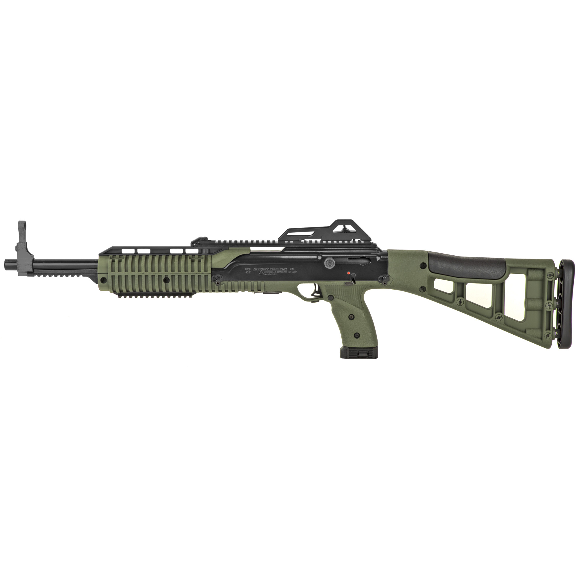Hi-Point(R) semi-automatic carbines are available in several calibers. They are 100% American-made from top to bottom and are very affordable.