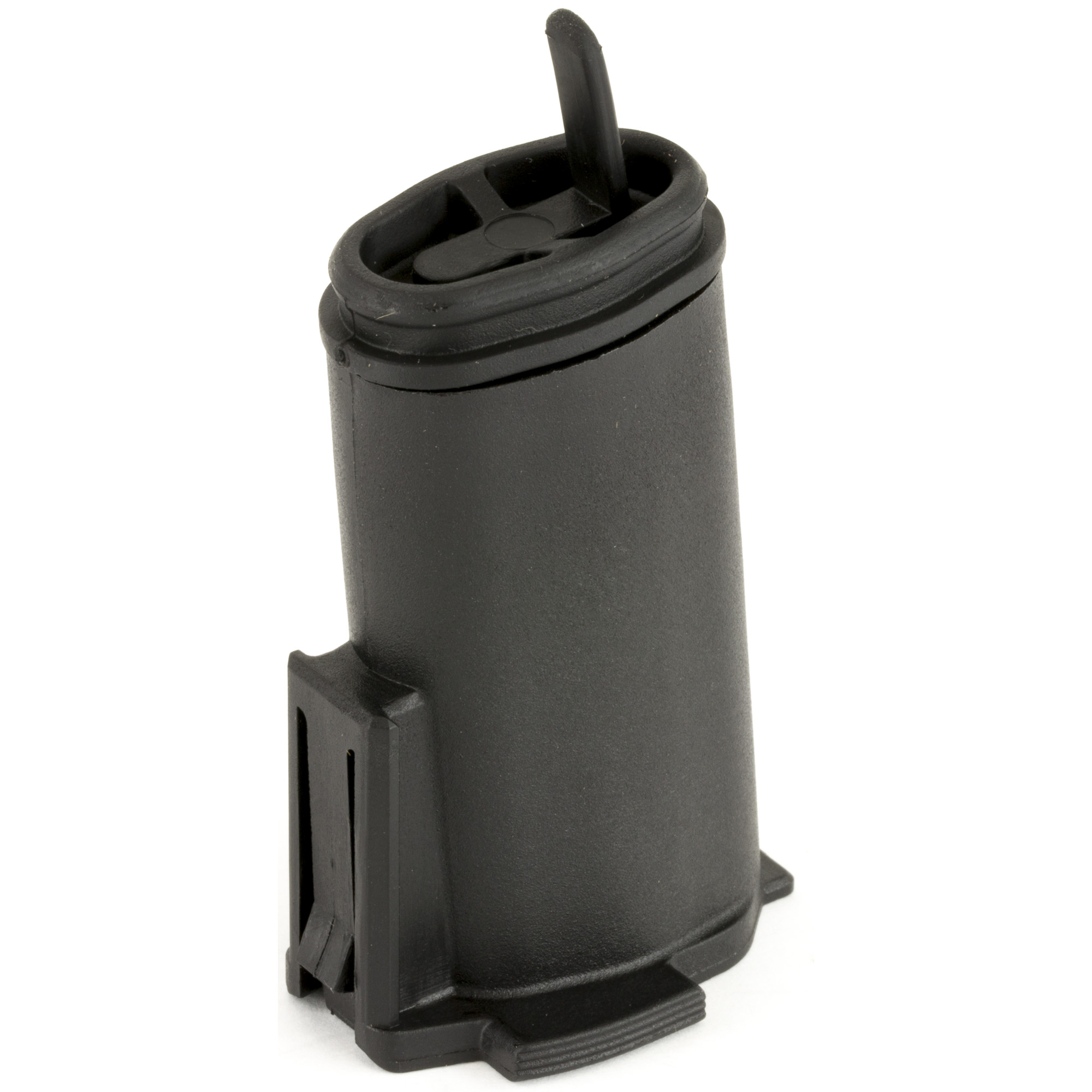"""Internal core unit for the MIAD as well as the MOE"""" MOE+"""" MOE-K2"""" and MOE AK Grips designed to hold two (2) AA type batteries in a self contained"""" water resistant unit. Included internal spacer provides rattle free storage of either (2) AAA or (2) N size batteries (commonly used for EOTech sights). Rubber cap has two sides with marking to identify """"spent"""" batteries and can be opened with a push of the thumb."""