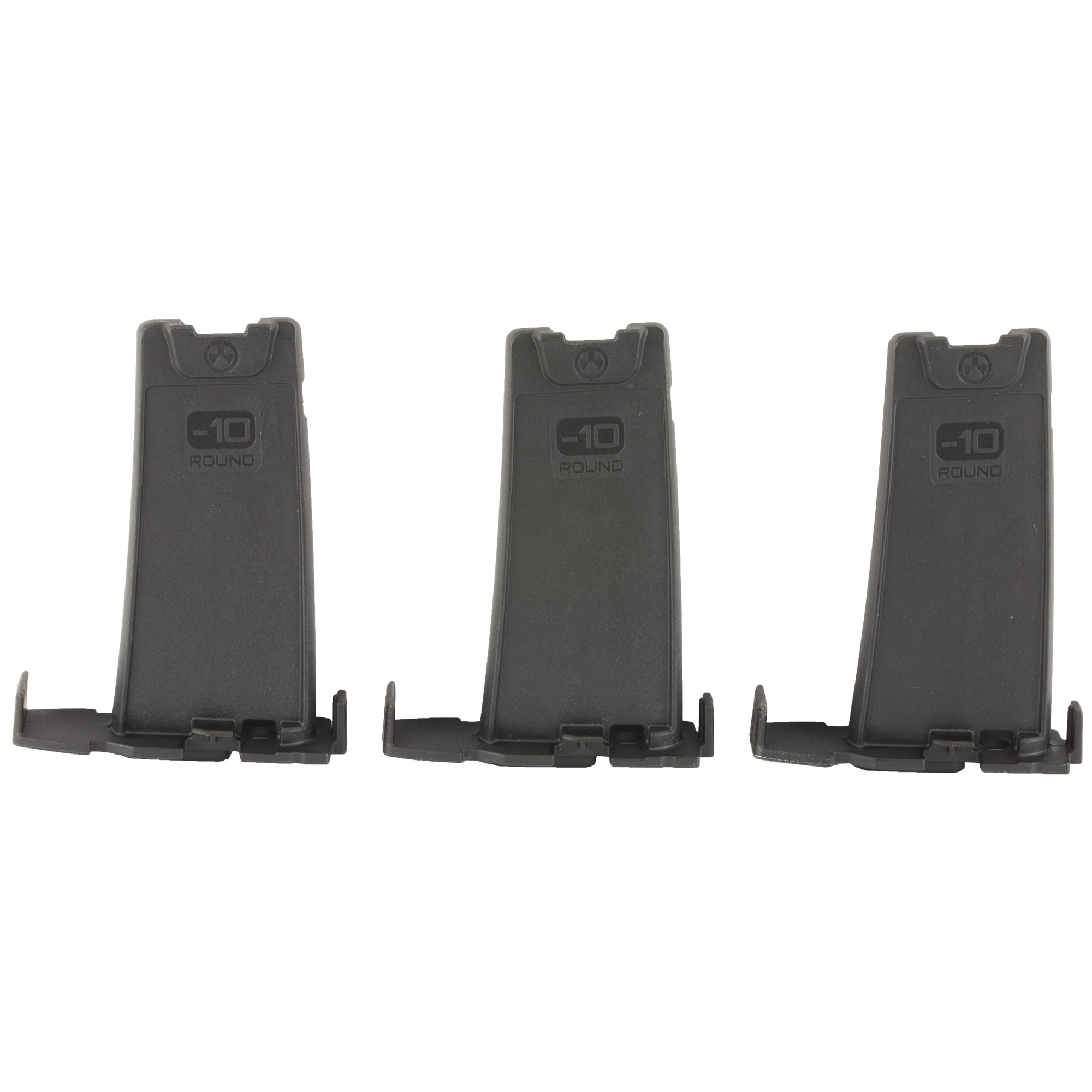 """The PMAG Minus 10 Round Limiter installs in 20 or 30 round GEN M3 PMAG bodies"""" reducing the magazine capacity by ten rounds. Designed for sporting and hunting applications"""" installation of the Limiter is simple"""" tool-less"""" and requires no permanent modification of the magazine body. NOTE: Will NOT make a banned magazine legal! This product is intended for TEMPORARY capacity reduction of PMAG AR/M4 GEN M3 magazines. This product does not constitute a permanent capacity reduction. The user is responsible for knowing applicable laws in any jurisdiction that restricts magazines based on capacity or regulates magazine capacity for hunting. Please check all laws and regulations of your state and locality to determine the legality of your host ammunition magazines."""