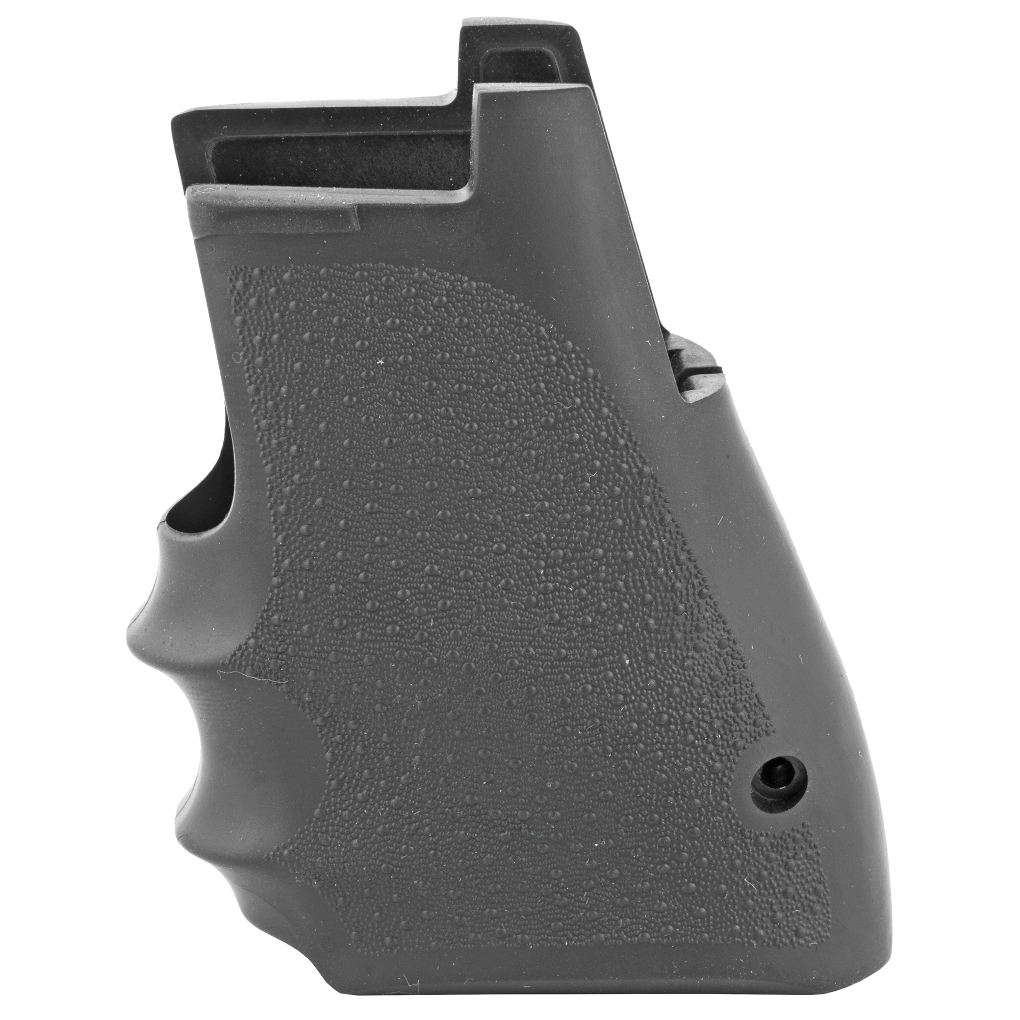 Magnum Research's Excellent Rubber Grips are made by Hogue exclusively for the Magnum Research Desert Eagle semi-automatics MKVII and XIX. It is constructed of soft synthetic rubber with a cobblestone texture and finger grooves. These grips will make the handling and controlling of your weapon considerably more comfortable.