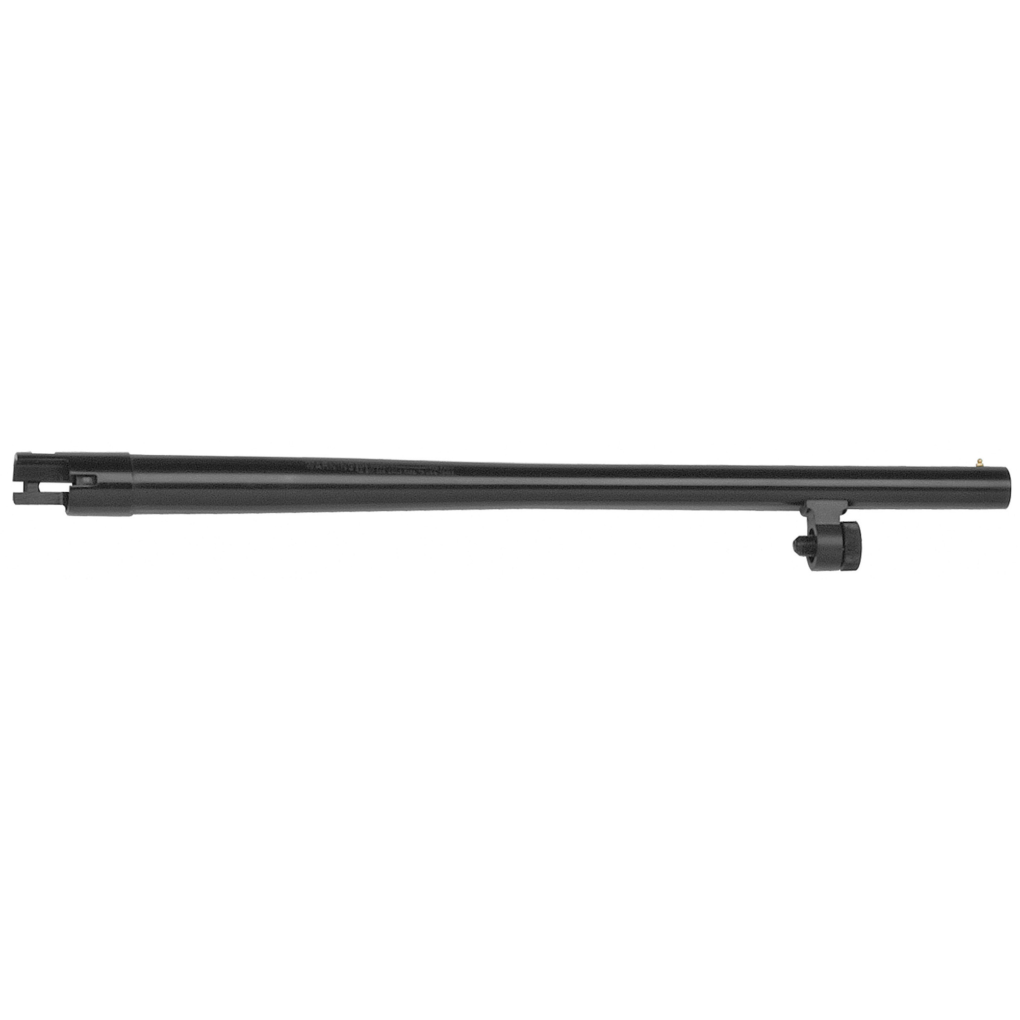 """18.5"""" Security barrel with bead sight"""" cylinder bore"""" and blued finish. Compatible with 12 Gauge Mossberg 500 and Maverick 88 6-shot models"""