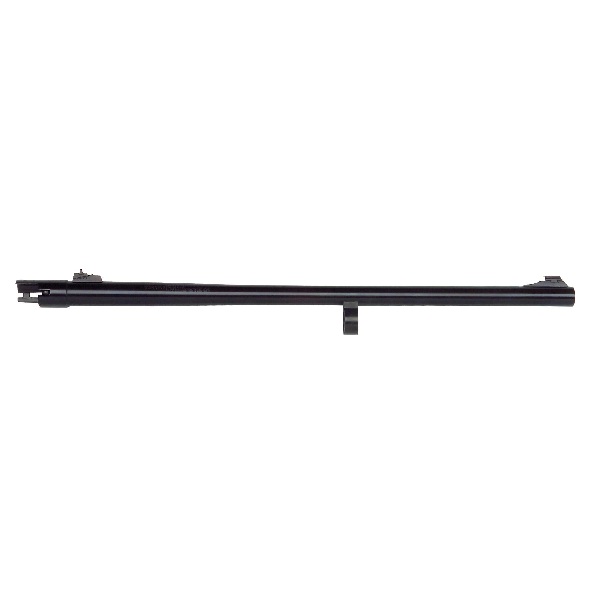 "Remington 870 12 Gauge"" 24"" Slug barrel with adjustable rifle sights"" fully-rifled bore"" and blued finish."