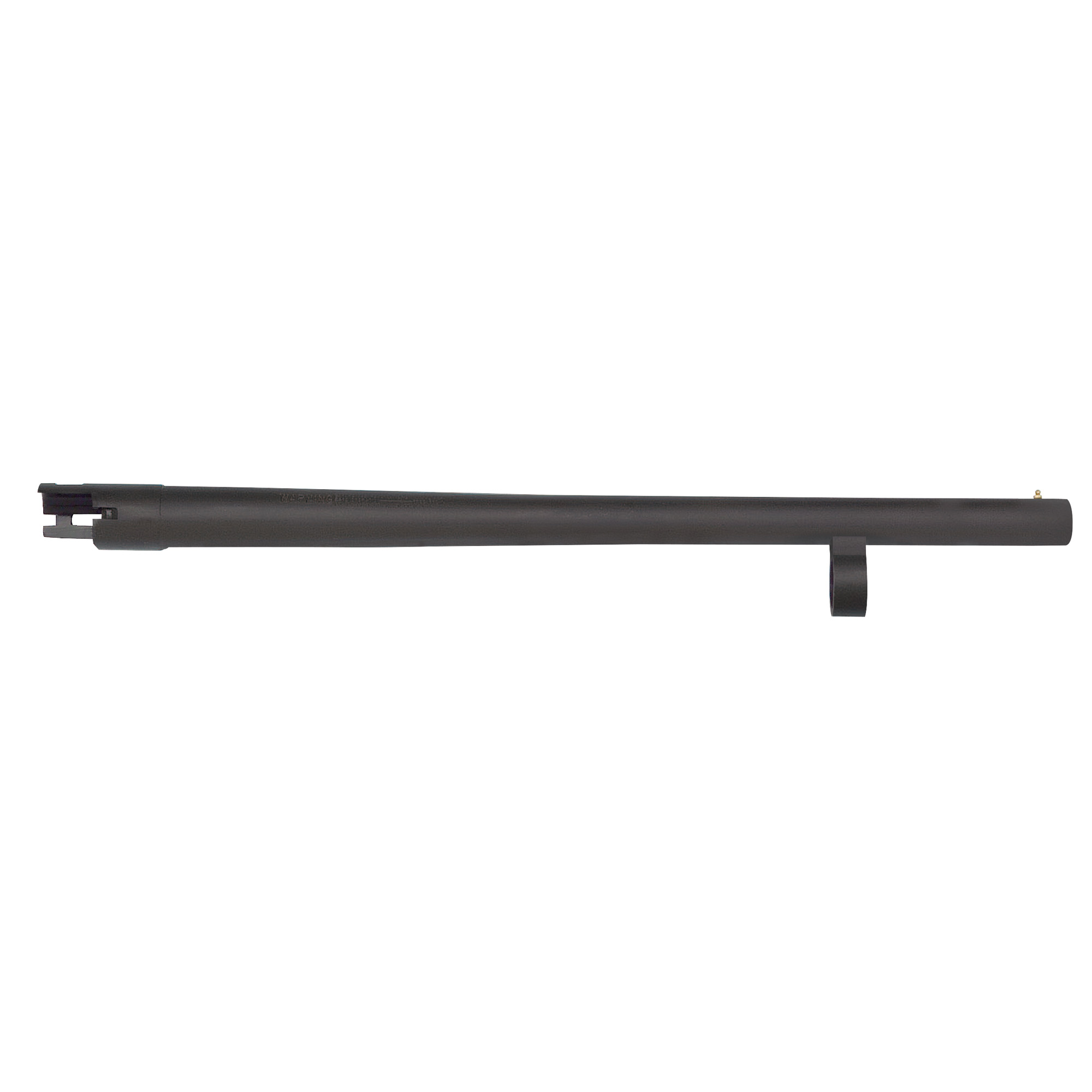 """Remington 870 12 Gauge"""" 18.5"""" Security barrel with bead sight"""" cylinder bore"""" and matte blued finish."""