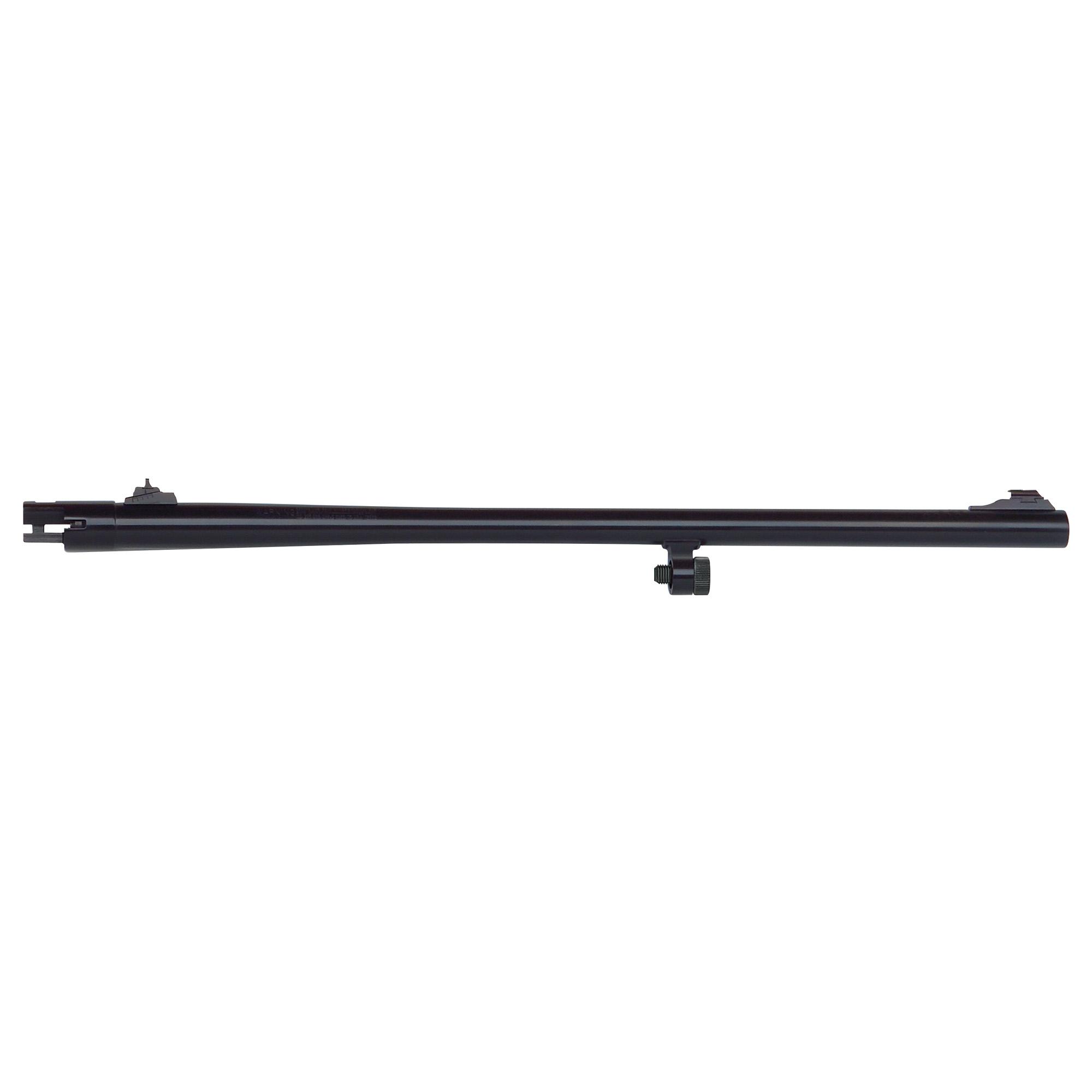 "24"" Slug barrel with adjustable rifle sights"" fully-rifled bore"" and blued finish. Compatible with 12 Gauge Mossberg 500 and Maverick 88 6-shot models."