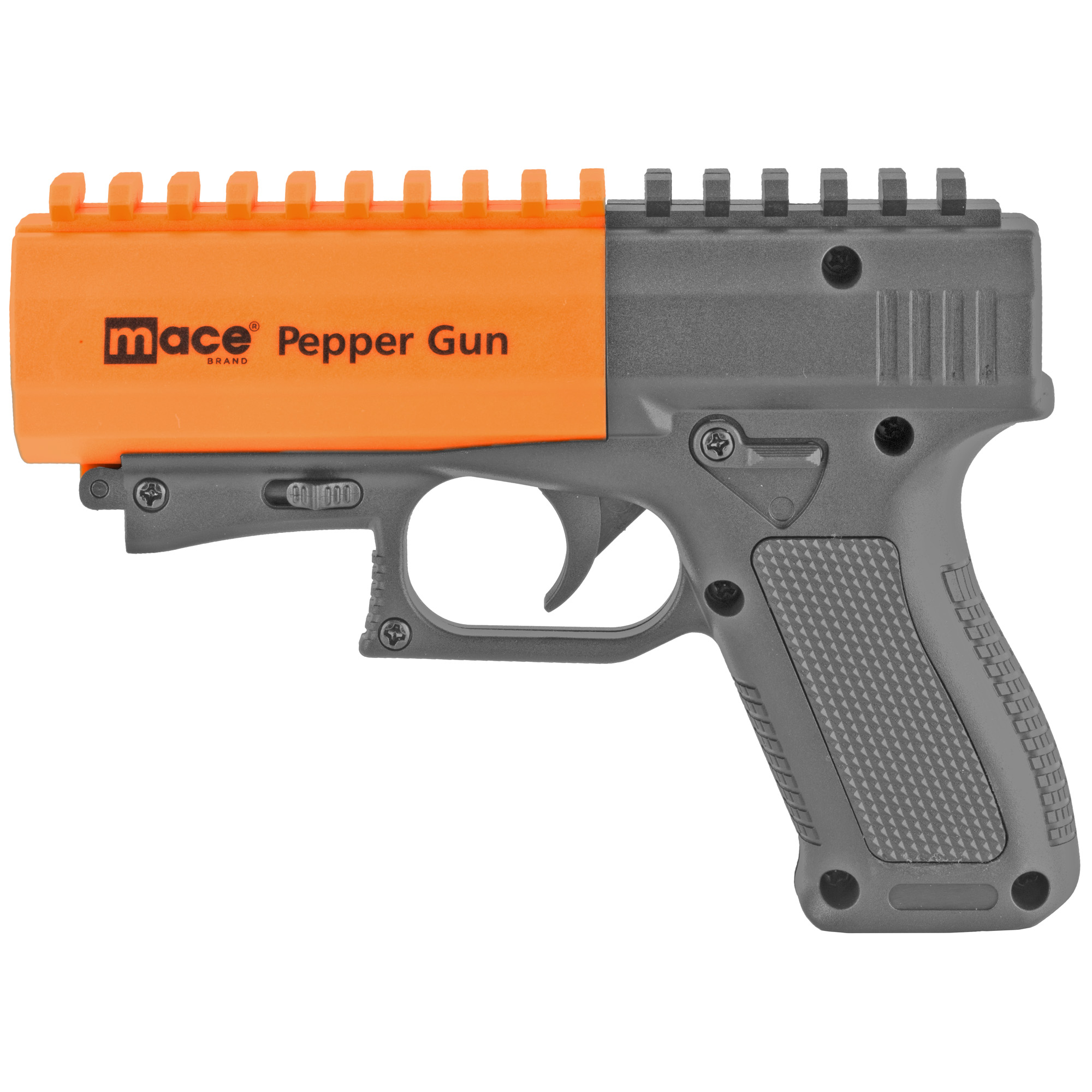 """Accurate and effective"""" the Pepper Gun 2.0 combines an advanced delivery system with a powerful formula to protect you from long-range threats. With an integrated Picatinny rail"""" you can attach other accessories to boost vision and targeting."""