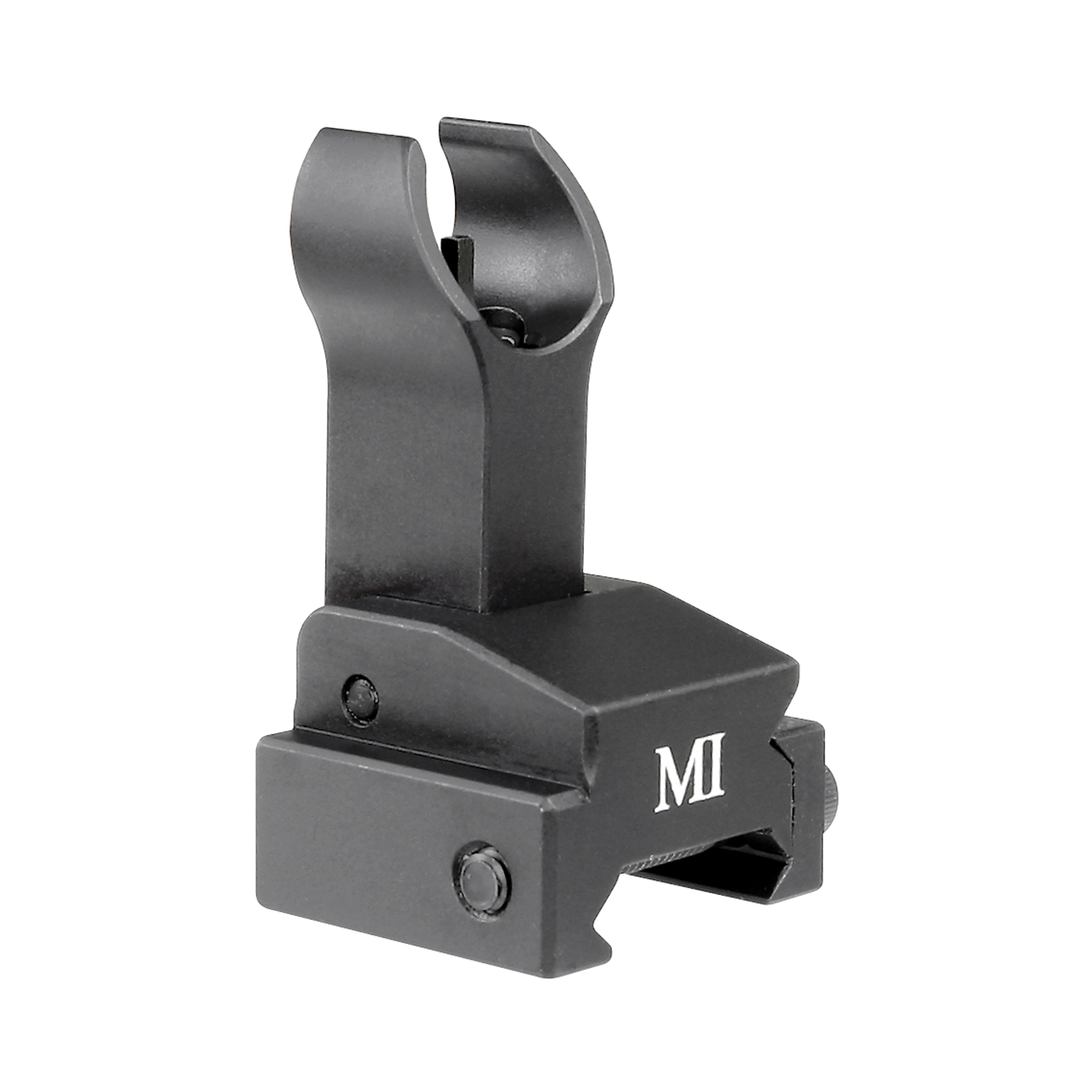 Midwest Industries Flip-Up Front Sight Gas Block Mount. All of Midwest Industries products focus on providing top notch quality and reliability you expect from products made in the U.S.A. Backed by Midwest Industries Lifetime Warranty.