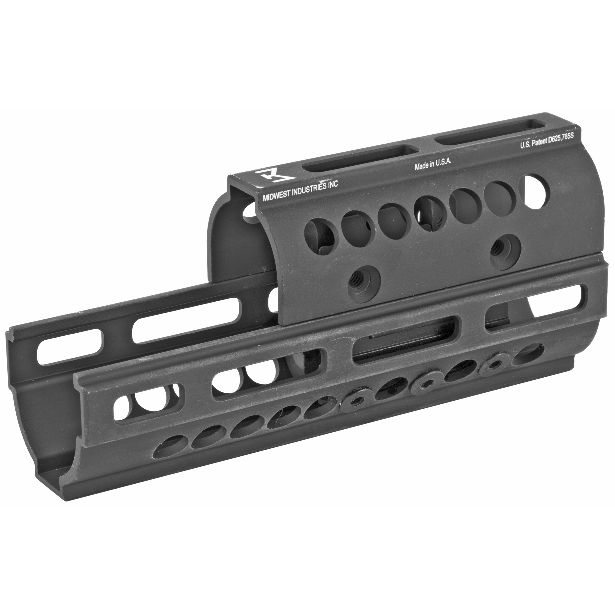 "Midwest Industries is a proven leader in the firearm industry. Made in America"" focusing on the small details to make your rifle platform better. The addition of their AK series of handguards to your rifle platform creates the rail space you need to add your accessories and change the feel of your rifle with a new streamline design. This AK Universal M-LOK compatible handguard installs in minutes using nothing but the wrenches provided with the kit. Includes one five slot M-LOK compatible rail section and fits AK-47 & AK-74 variants."