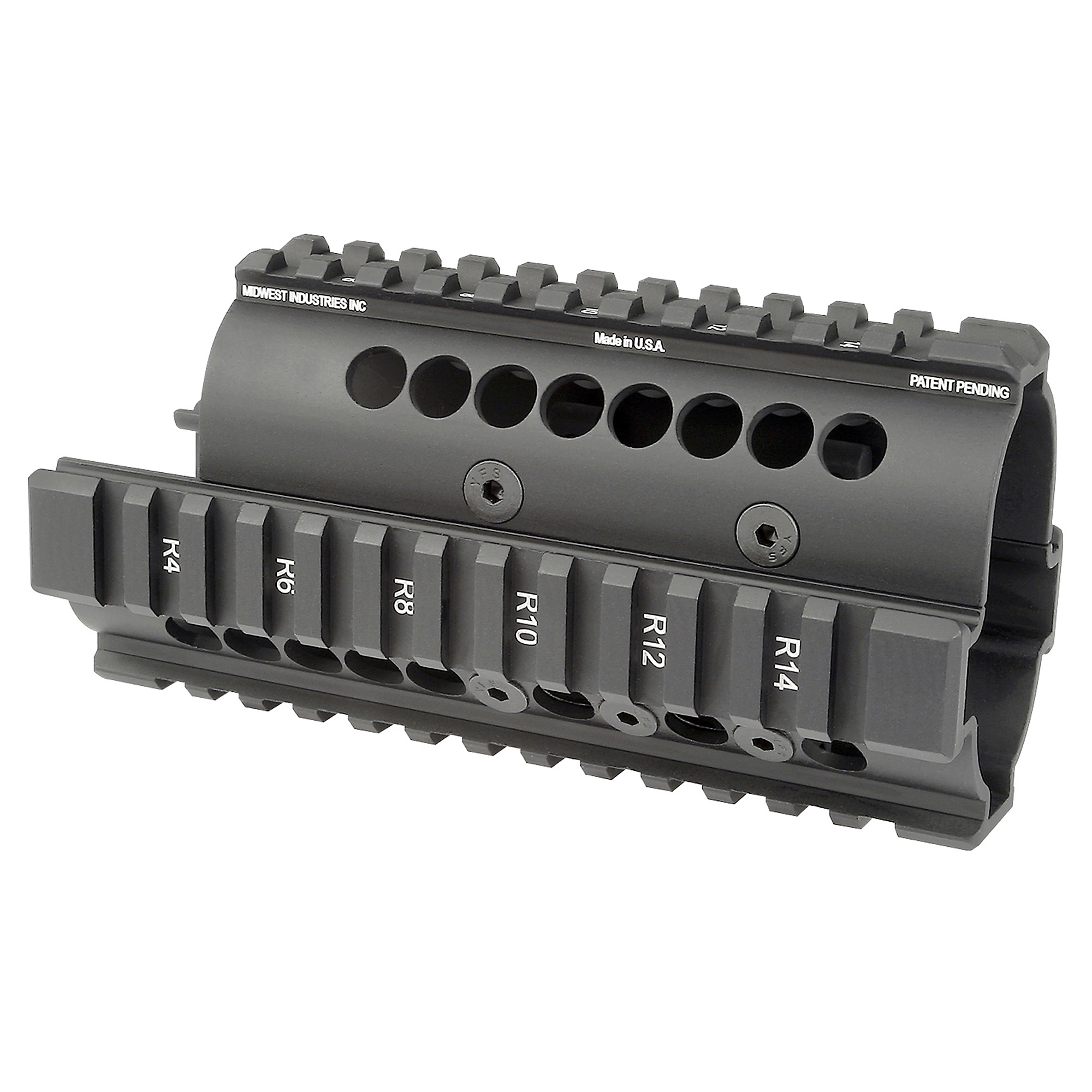 Midwest Industries Yugo Model M70 AK-47 Standard Top cover Handguard will allow you to accessorize your AK the way you see fit. Constructed from high quality 6061 Aluminum and designed with true mil-spec 1913 picatinny rails this handguard is a sure winner. The handguard can be easily installed in minutes with the included wrenches and does not require the services of a gunsmith. Like with all Midwest Industries products they are proudly made right here in the USA and feature a lifetime warranty.