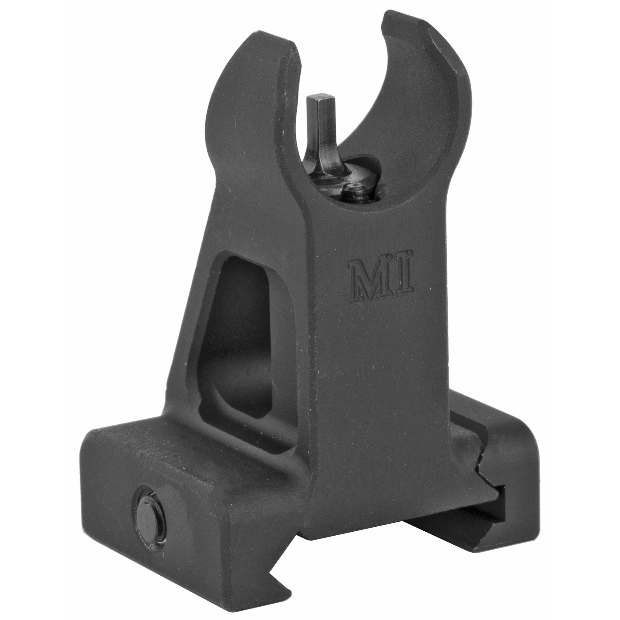 "If you prefer battle proven design or want a set of top quality back up irons"" then the Midwest Industries HK Style Combat Fixed Front Sight fits the bill. Made of durable"" yet lightweight aircraft grade aluminum"" the sight is secured to any Picatinny"" weaver top mounted rail along any sized handguard."