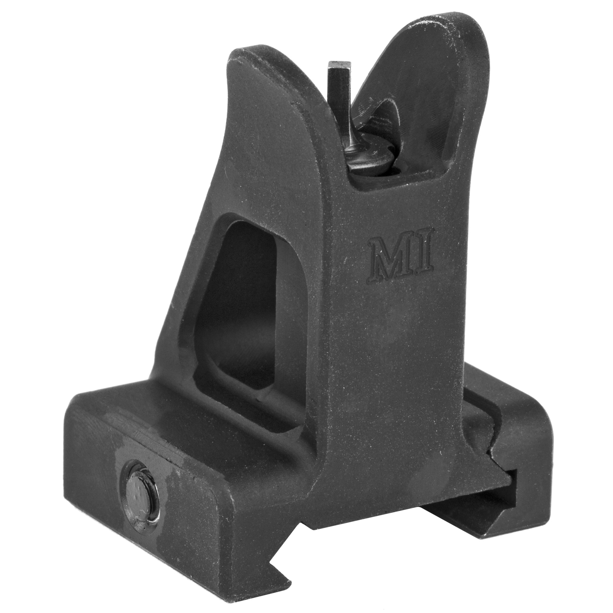 "If you prefer a battle proven design or want a set of top quality back up irons"" then the Midwest Industries Combat Fixed Front Sight fits the bill. Made of durable"" yet lightweight aircraft grade aluminum"" the sight is secured to any Picatinny"" weaver top mounted rail along any sized handguard."