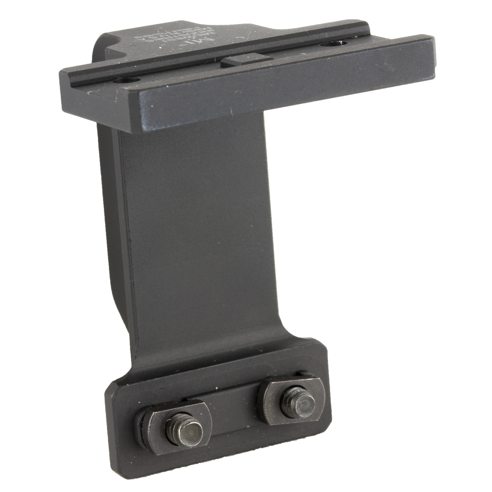 Gen 2 mount for sub 2000 type rifles works with Aimpoint T1 red dots and is made by Midwest Industries.