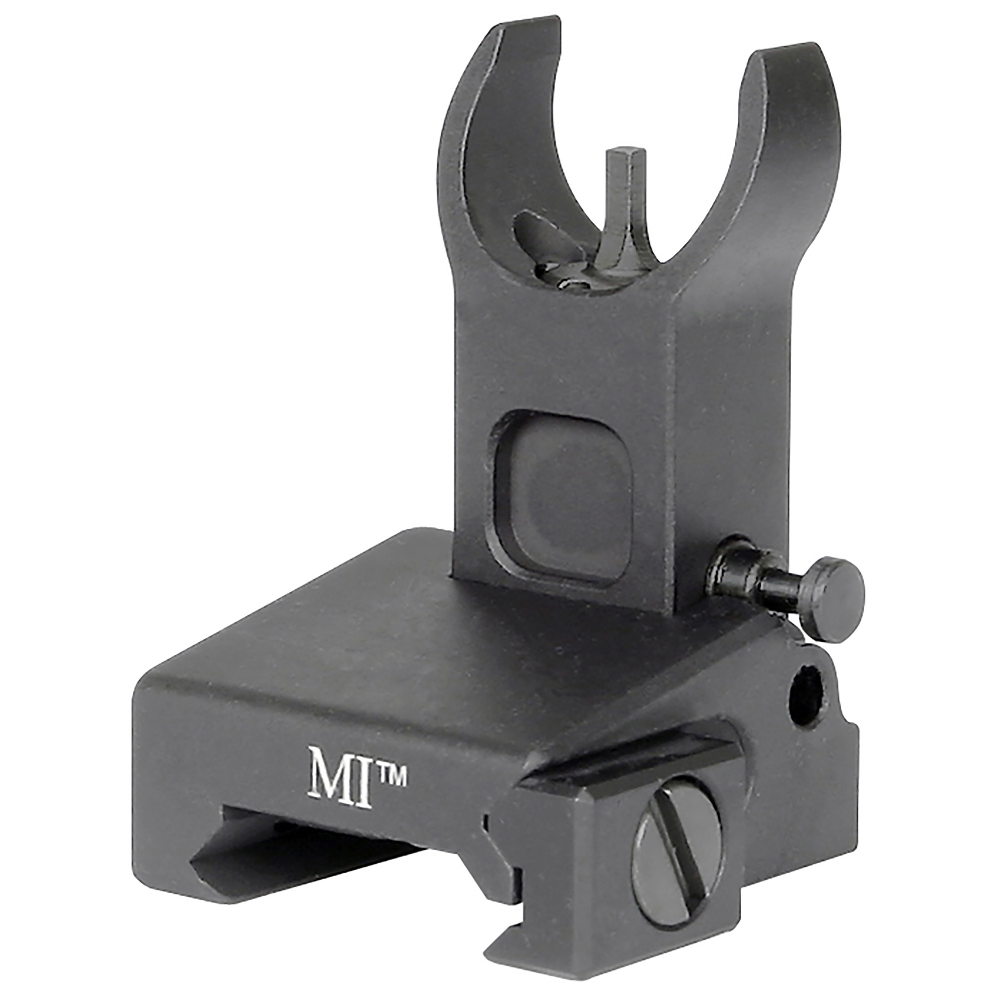 "Midwest Industries have been making some of the most sought after"" durable"" and innovative firearm parts for a number of years. The use of high quality materials and innovative design made Midwest Industries a leader in the industry. Their AR-15 Low Profile Flip Up Front Sight has established itself as"