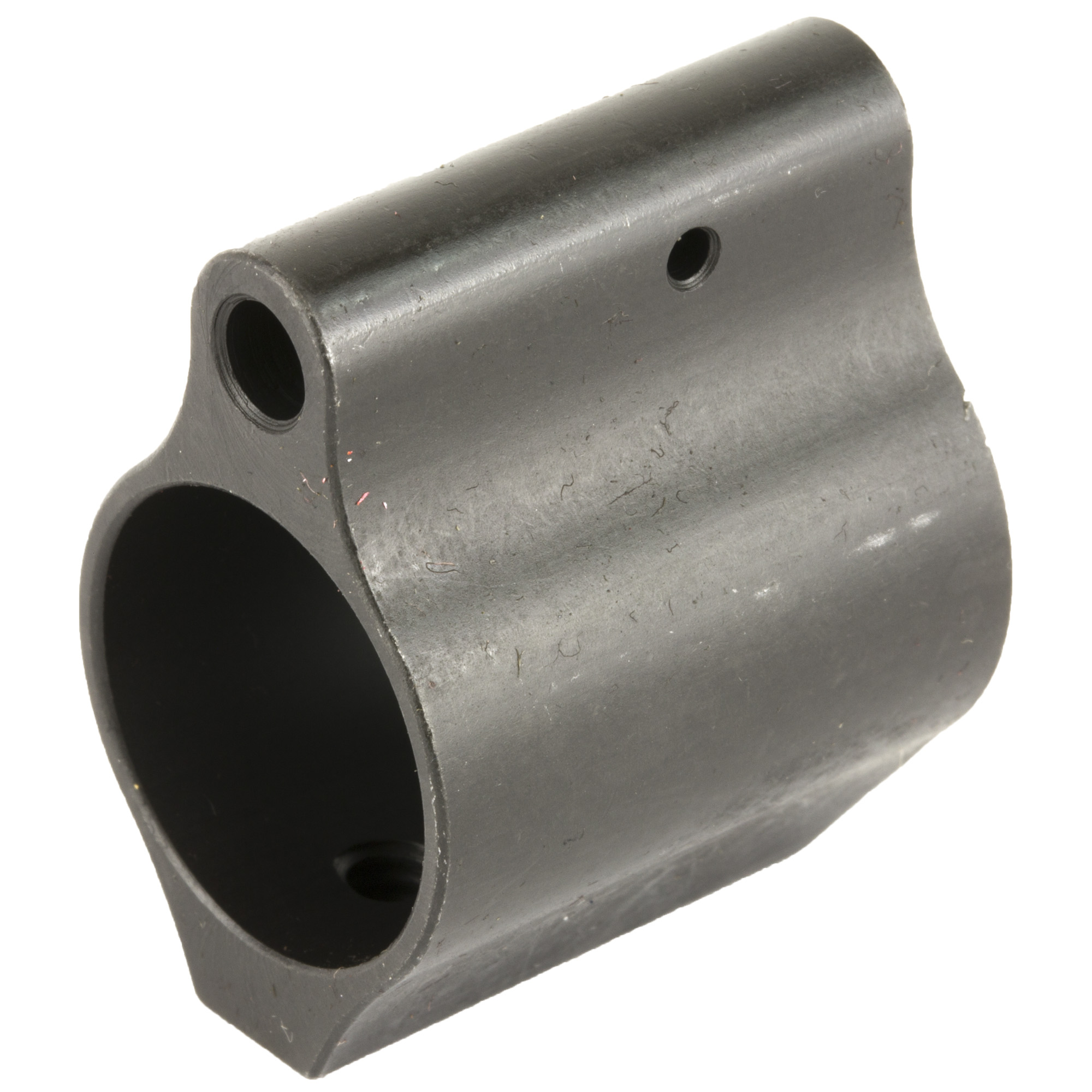 The Midwest Industries micro gas block will fit under most commercially available hand guards.
