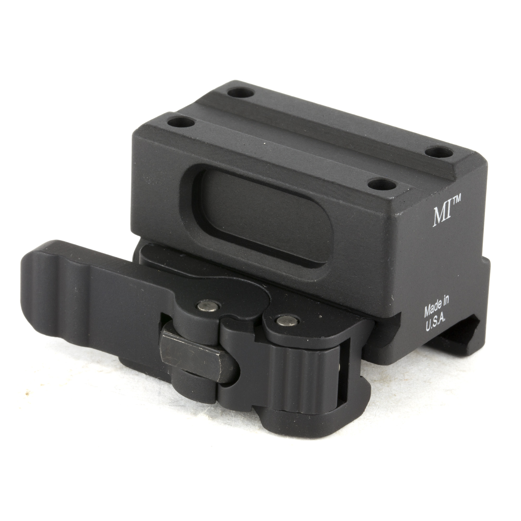 Lower 1/3 Trijicon MRO QD mount made by Midwest Industries.