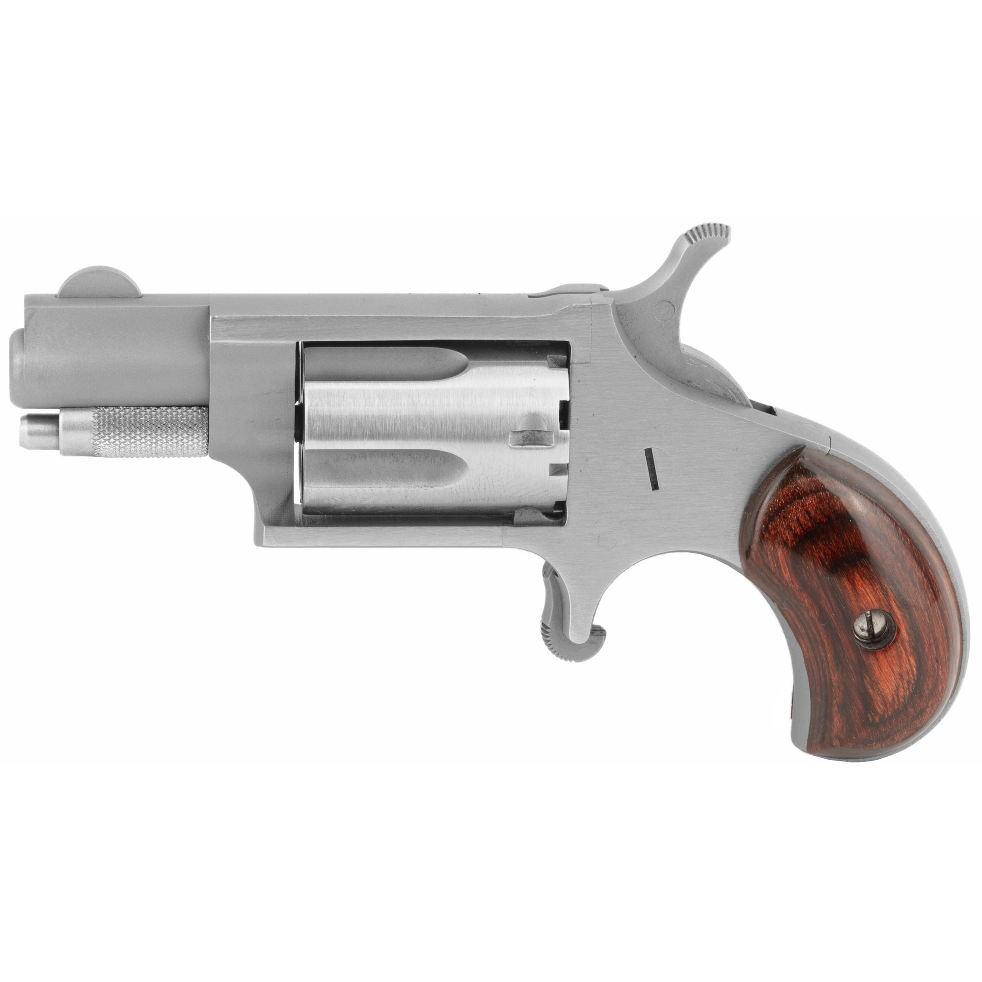 "The NAA .22 Long Rifle is the most popular Mini-Revolver ever produced. With the many current accessories"" it is versatile for many applications and is the standard by which other Mini-Revolvers are judged. They offer their .22 Long Rifle Mini-Revolver in both a 1 & 1/8"" Barrel and a 1 & 5/8"" Barrel configuration. The NAA .22 Long Rifle with the 1 & 5/8"" Barrel makes a great addition to the NAA Mini-Revolver line. 5-Shot capacity."