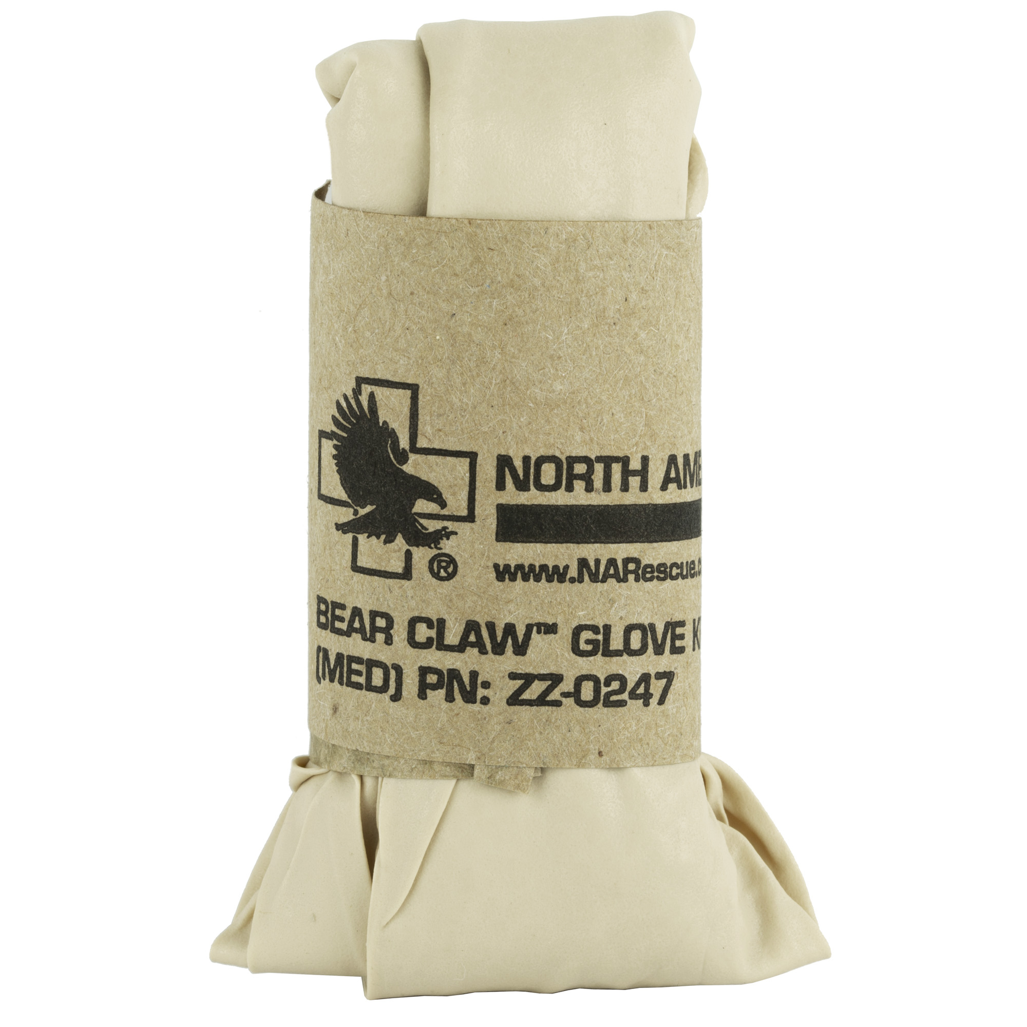 "Bear Claw Ultimate Nitrile gloves are made of 100% Nitrile material which is free of the allergens found in standard latex gloves. They are engineered to the our users high performance by offering both maximum protection and unsurpassed tactile sensitivity. This careful attention to detail includes textured fingertips to help with fine motor skills"" beaded cuffs for quick and easy donning and a thickened palm for durability and reliability. These ambidextrous gloves are packaged 25 pairs per bag. Designed for single-use only."