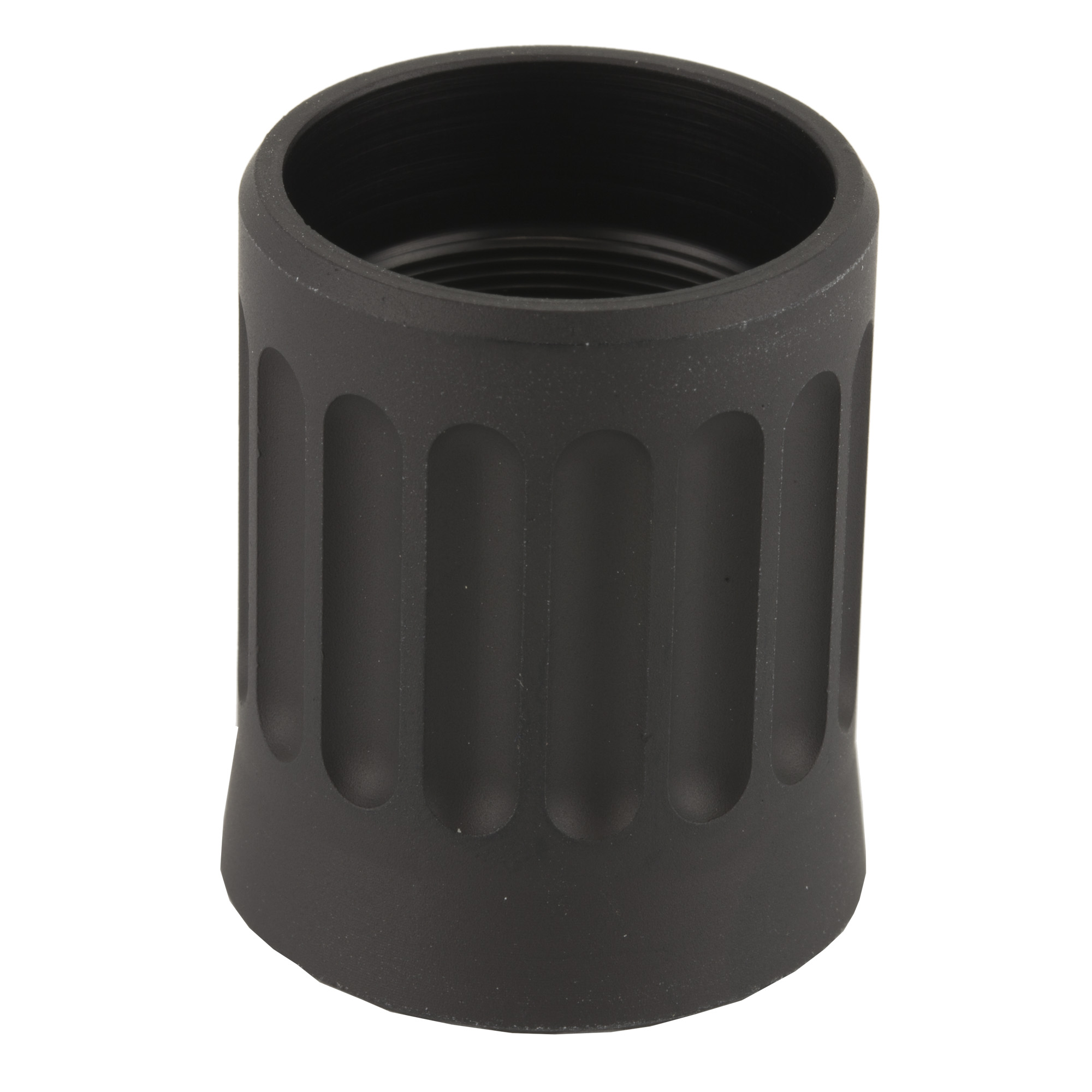 """The MXT extension nut allows for installation of a Nordic Components MXT 12ga shotgun extension tube kit. The nut replaces the factory magazine cap"""" and is required for installation of the extension tube kit."""