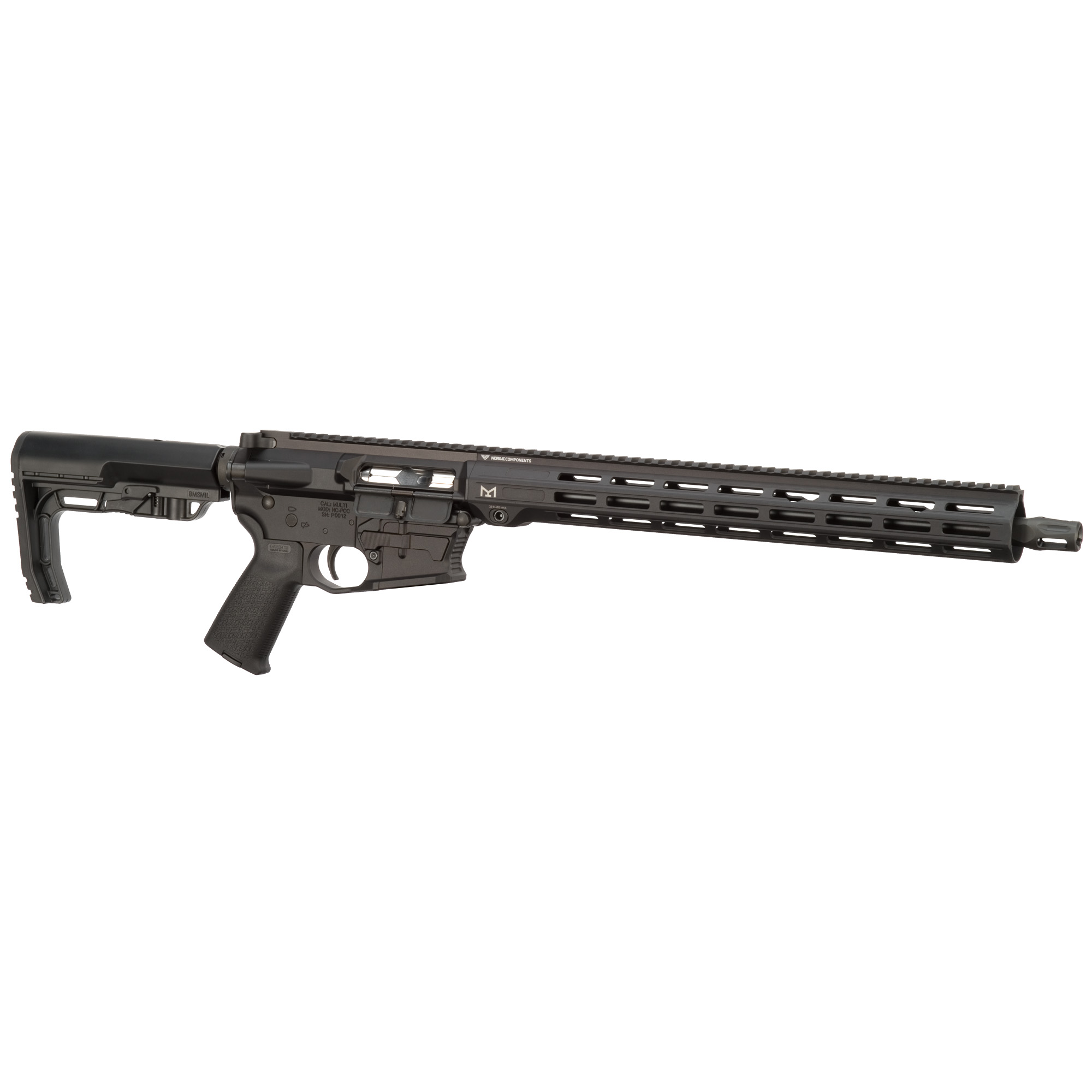 """The Pistol Caliber Carbine features a patented modular lower receiver with removable / interchangeable magwell"""" allowing you to use more than one style of magazine."""