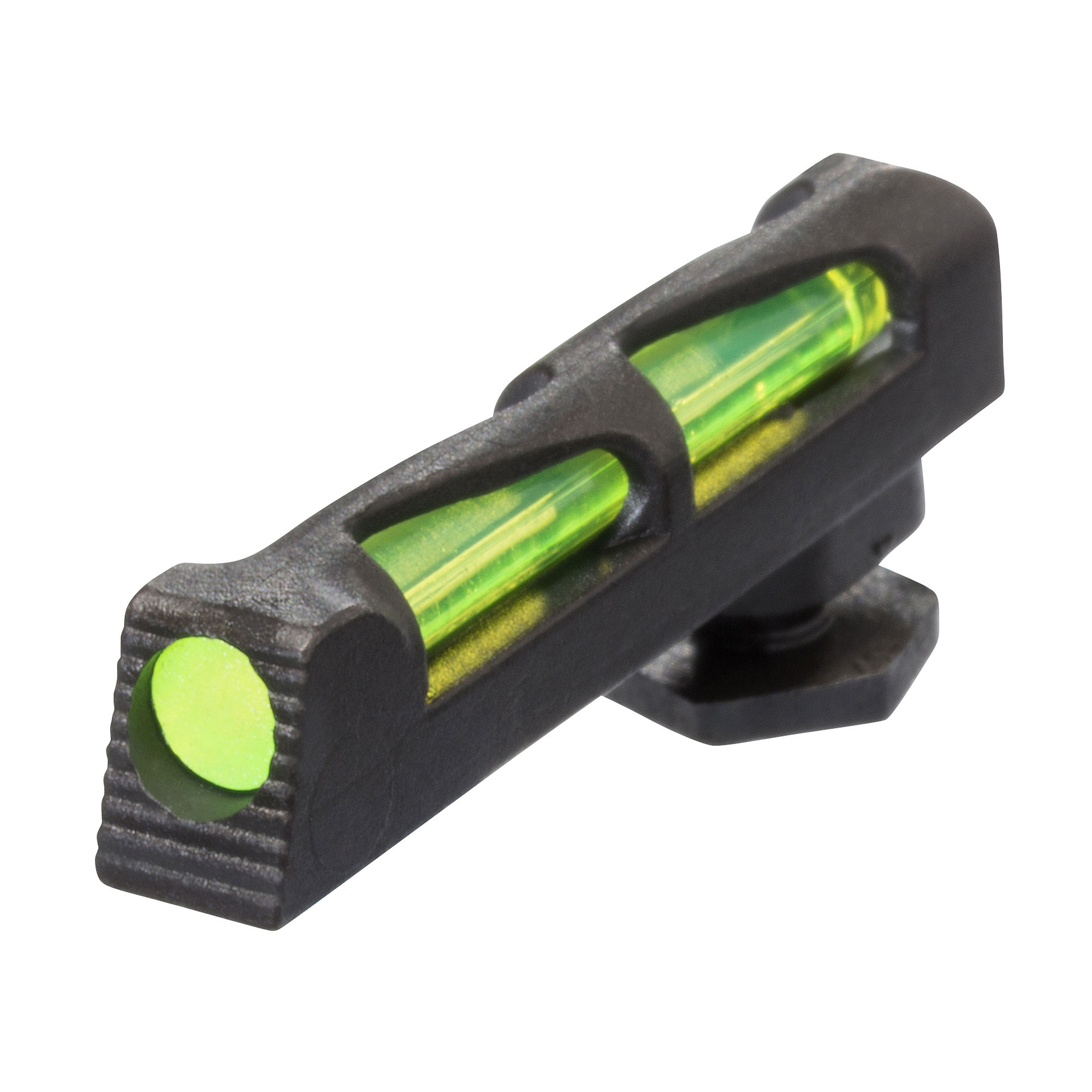 "HIVIZ(R) LiteWave(R) Front Sight for Glock pistols. Fits all Glock models. Includes Green"" Red and White replaceable LitePipes."