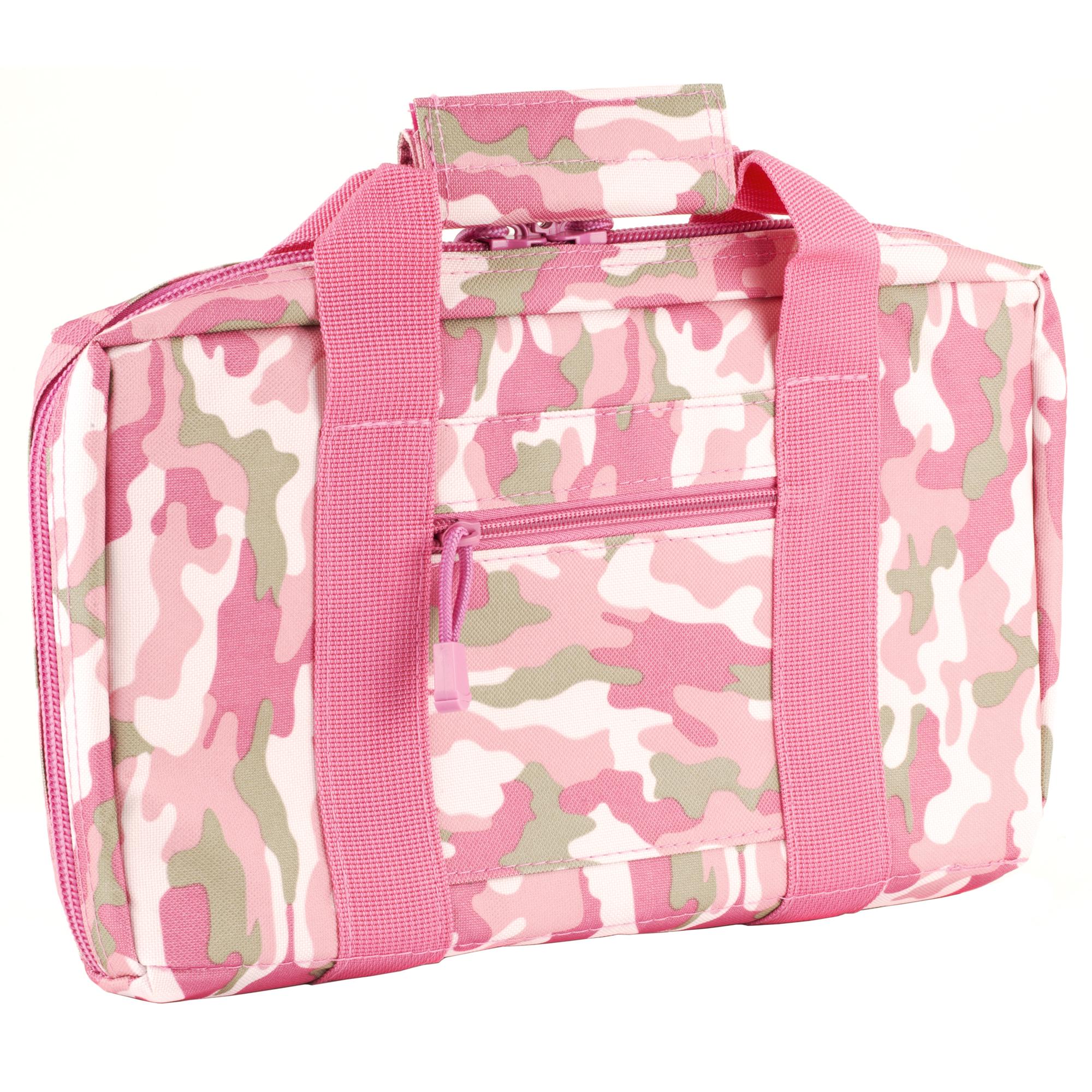 NCSTAR Discreet Pistol Case Nylon – Pink