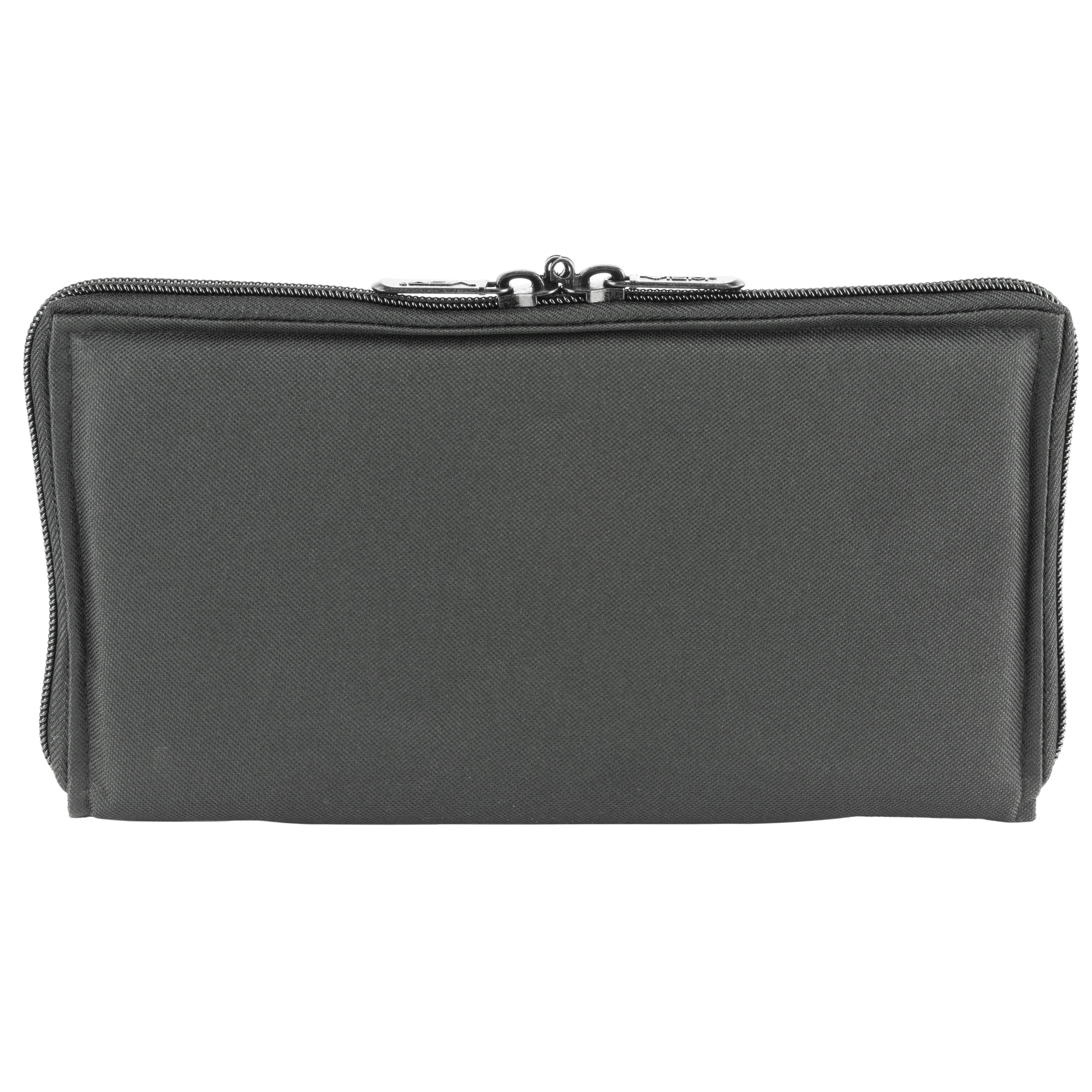 The pistol case range bag insert is constructed of tough PVC material and its thick padding protects your guns while saving space.