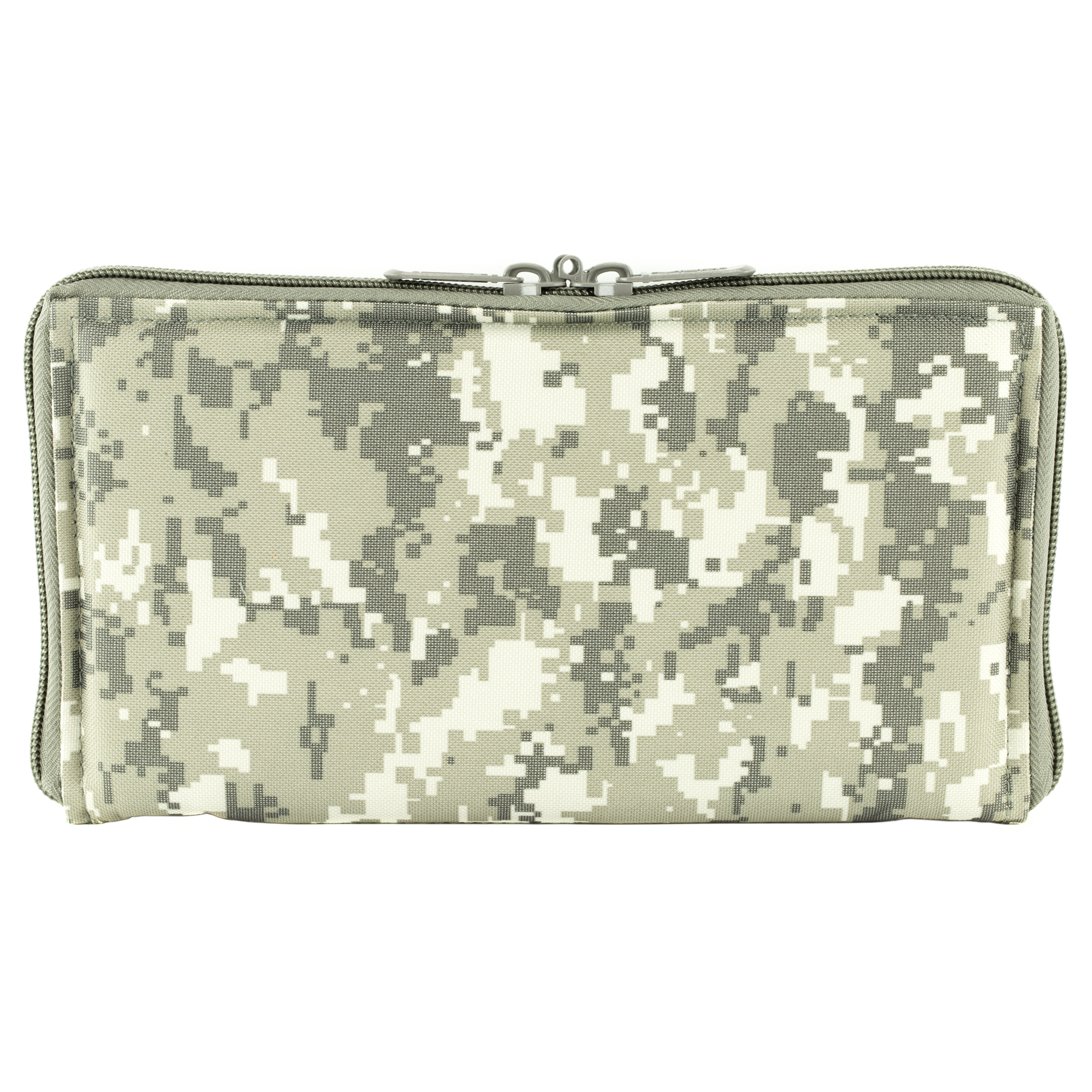 This pistol case range bag insert is constructed of tough PVC material. It's thick padding protects your guns while saving space.