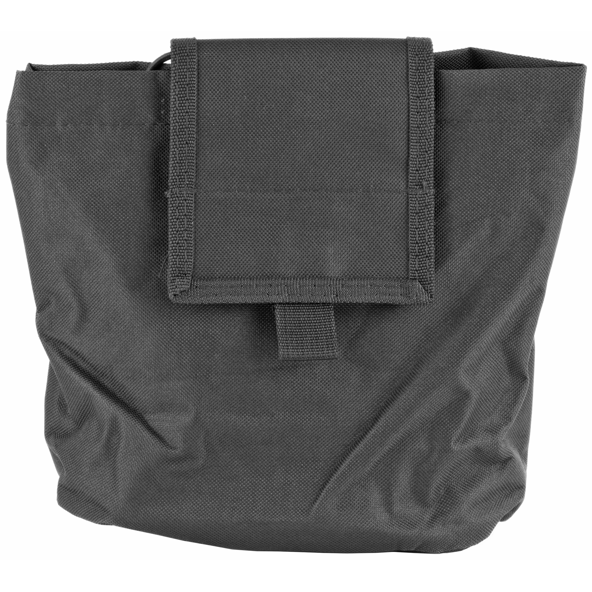 The New VISM Folding Dump Pouch allows you to quickly store your Shooting Gear into a convenient pouch when you need it. The Dump Pouch folds flat into a compact size when not in use. When unfolded it is a large pouch that is able to hold 7 AR or AK 30 round magazines.