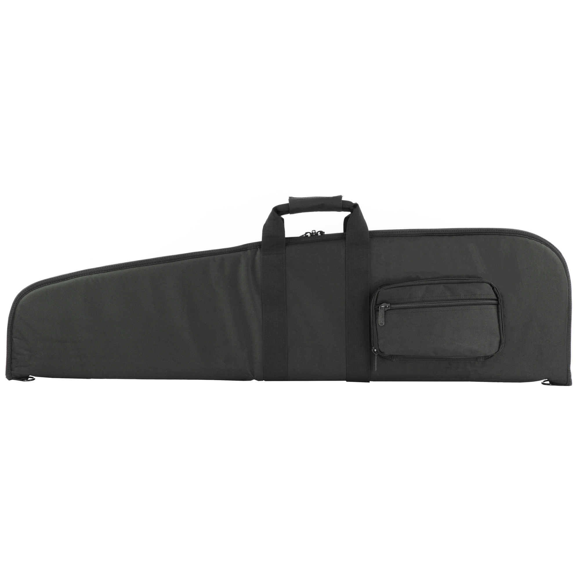 The VISM Scoped Rifle Case has high density foam inner padding for superior protection and heavy duty metal double zippers.