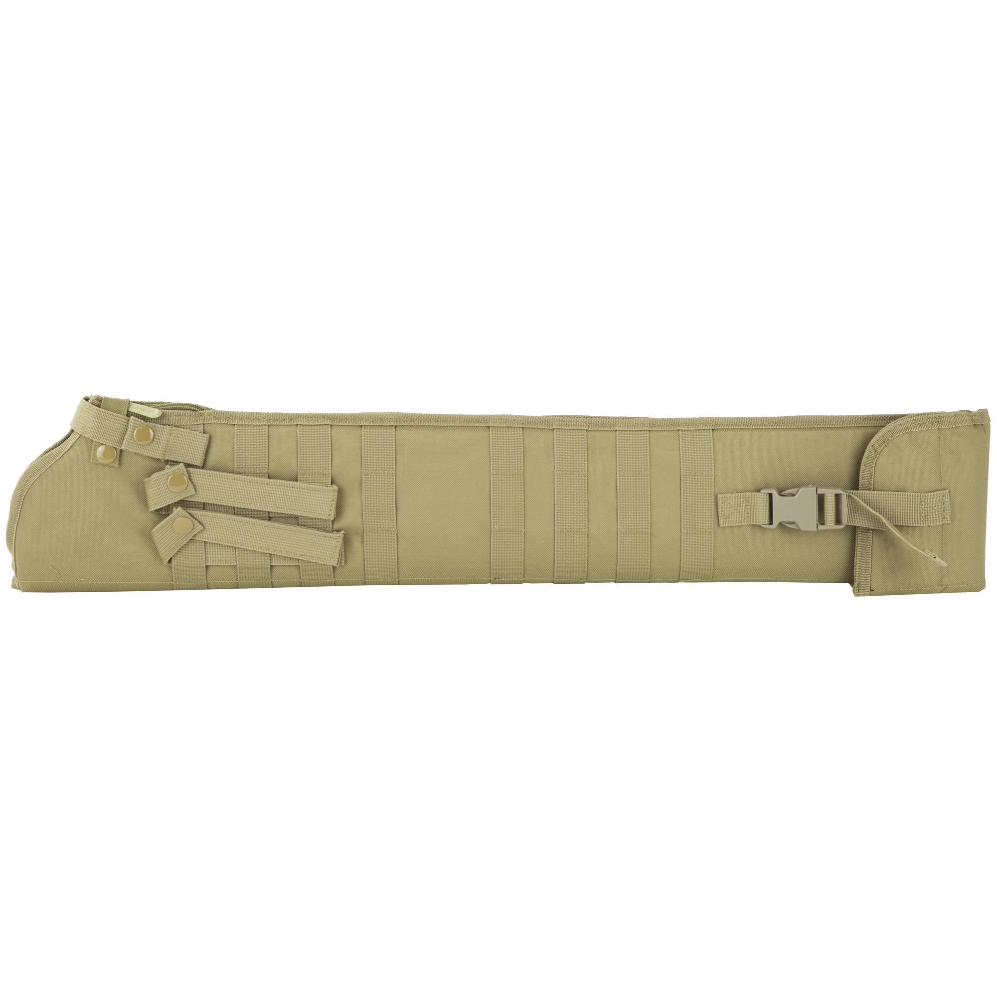 NCSTAR Shotgun Scabbard Nylon Bag 29″ – Tan