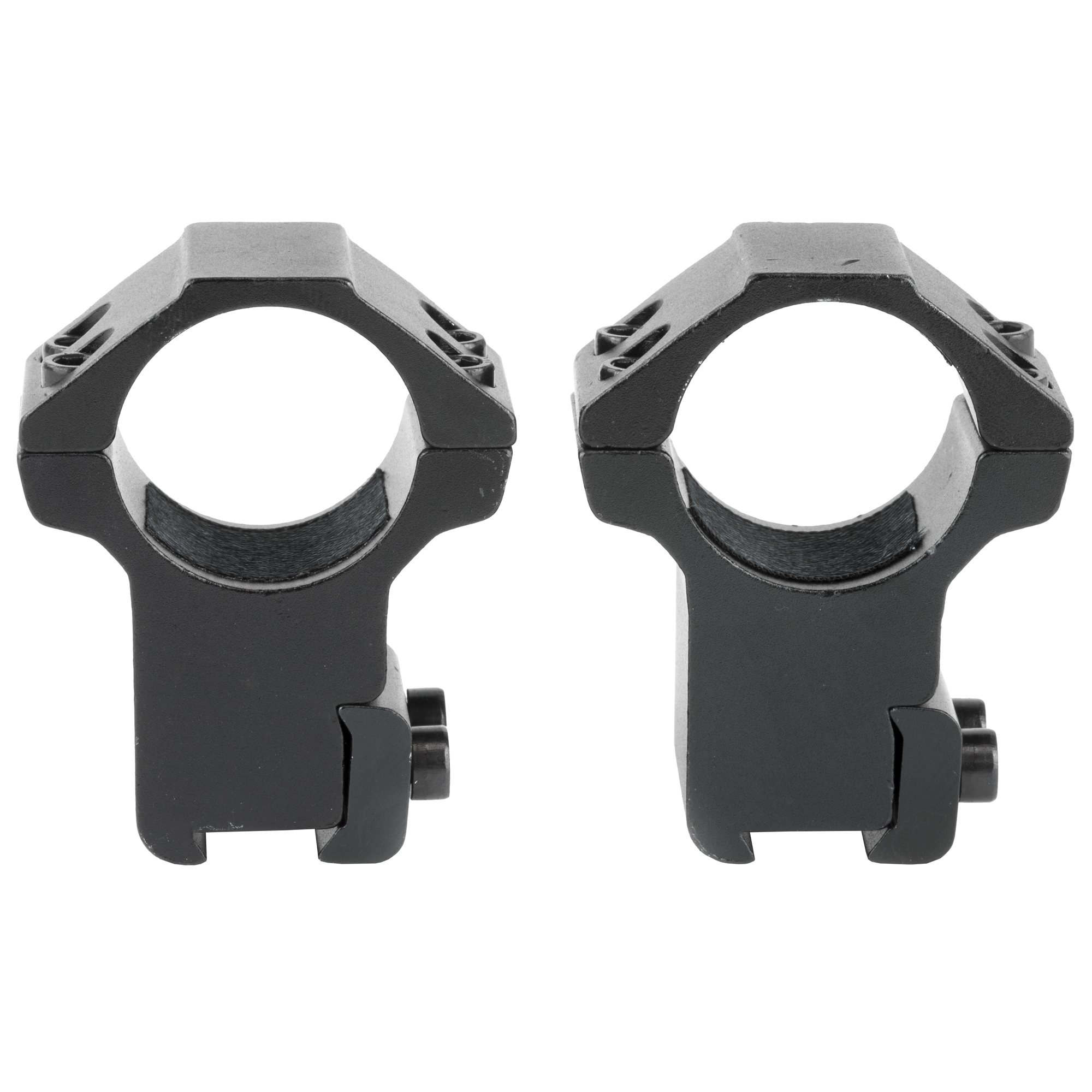 NCSTAR 3/8″ Dovetail 3/8″ Dovetail Rings 2 Piece Mount 1″ – Black