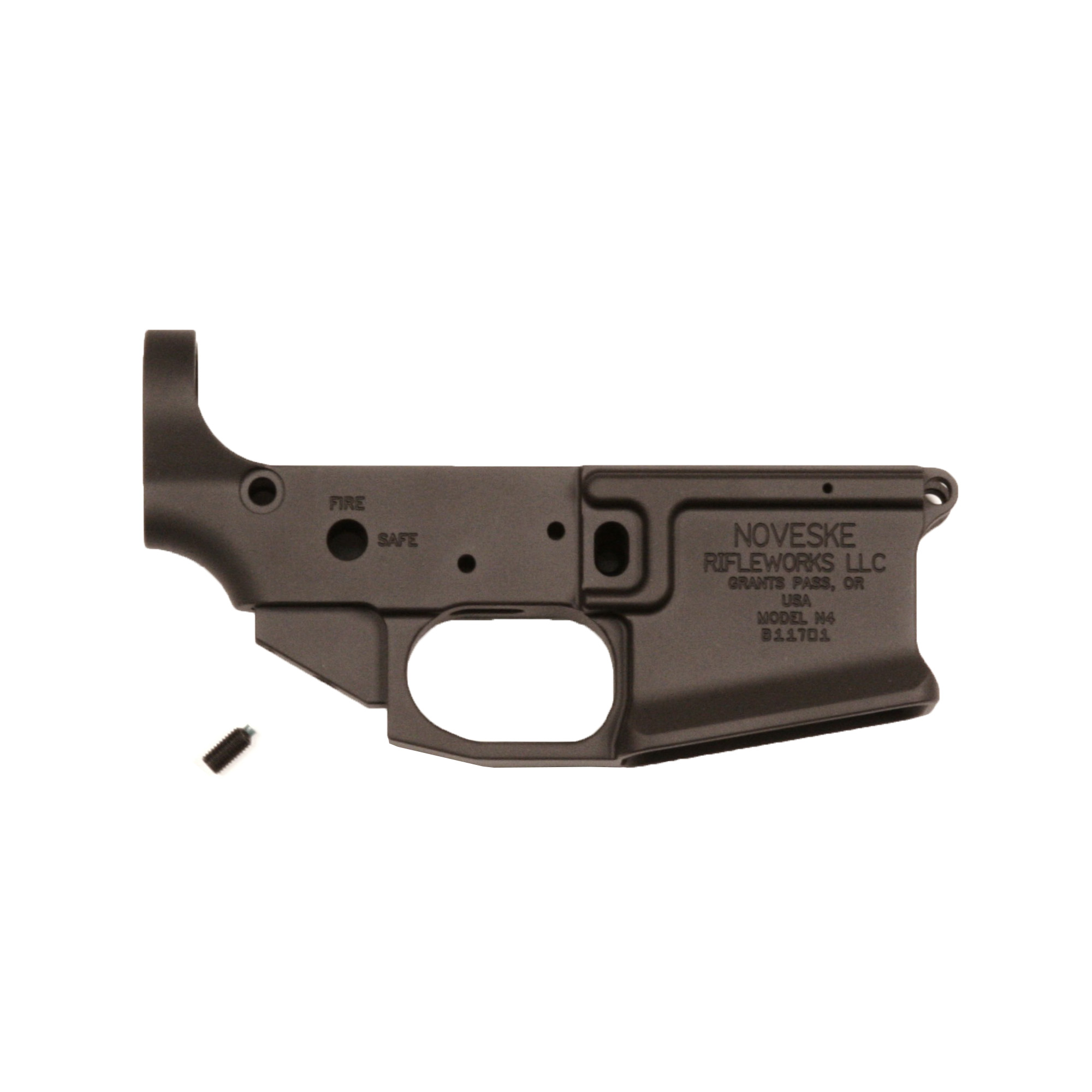 The Noveske Gen III lower receiver is precision machined from billet aluminum. It features a flared magwell and integrated trigger guard. Includes a tension screw to ensure snug fit with upper receiver.