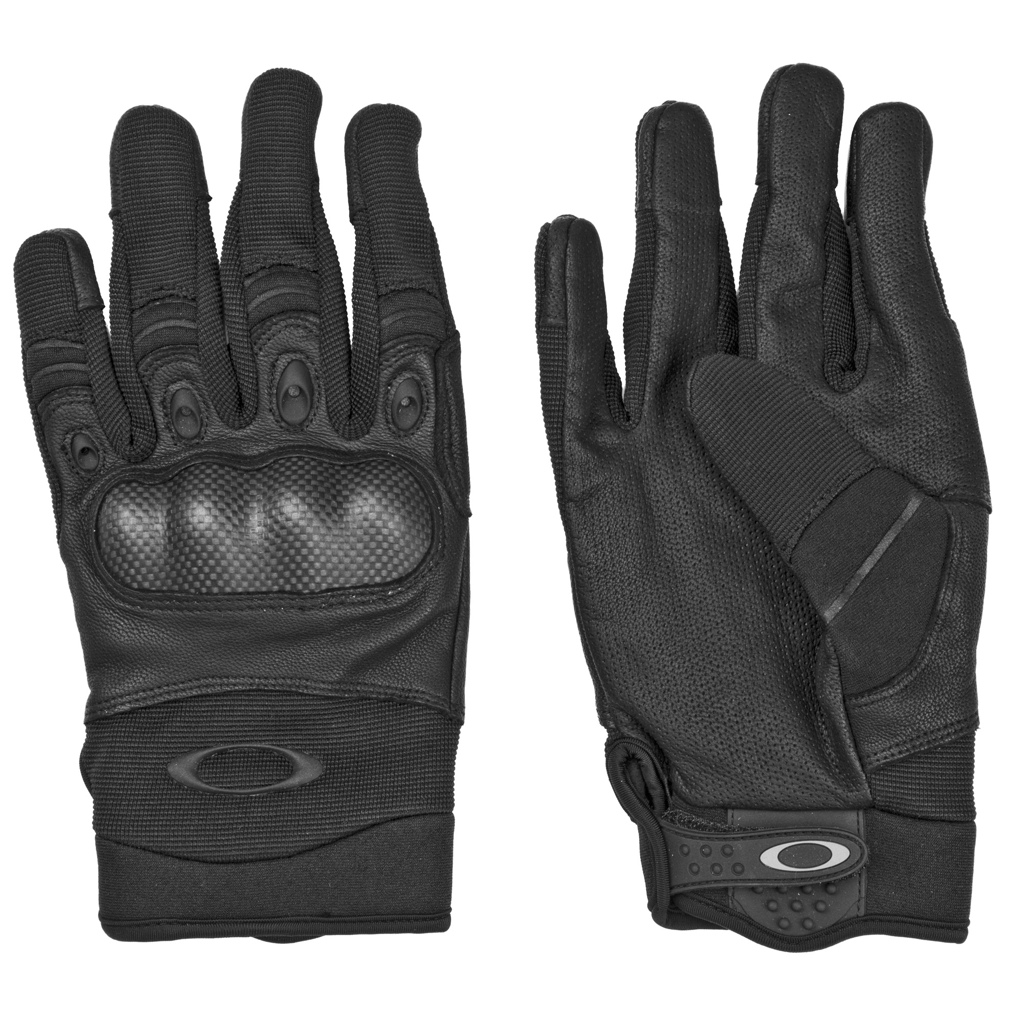 "The Factory Pilot Gloves are made of 70% Goat Skin"" 10% Elastane"" 8% Nylon"" 6% Chloroprene Rubber"" 3% Rubber"" and 3% Carbon. They feature a secure grip and textured pull for easy donning."
