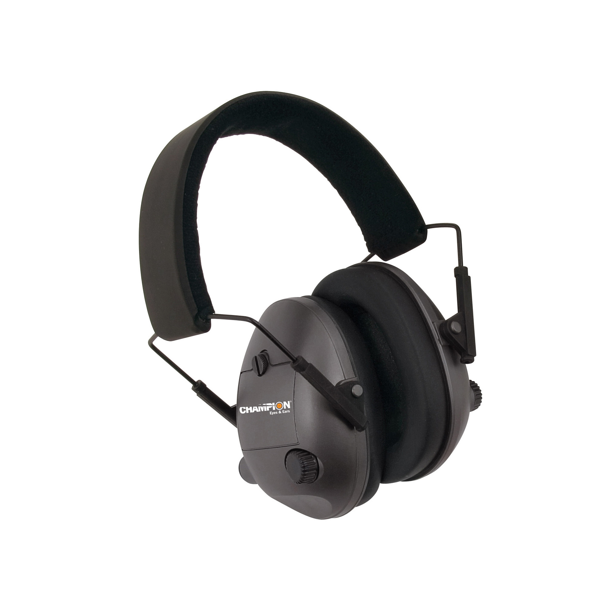 "Enjoy safe shooting with new sound dampening ear muffs from Champion. These comfortable"" stylish muffs provide superior hearing protection while remaining light and comfortable for the shooter. Don't let your shooting passion damage your hearing-rely on Champion protection when at the range or in the field."