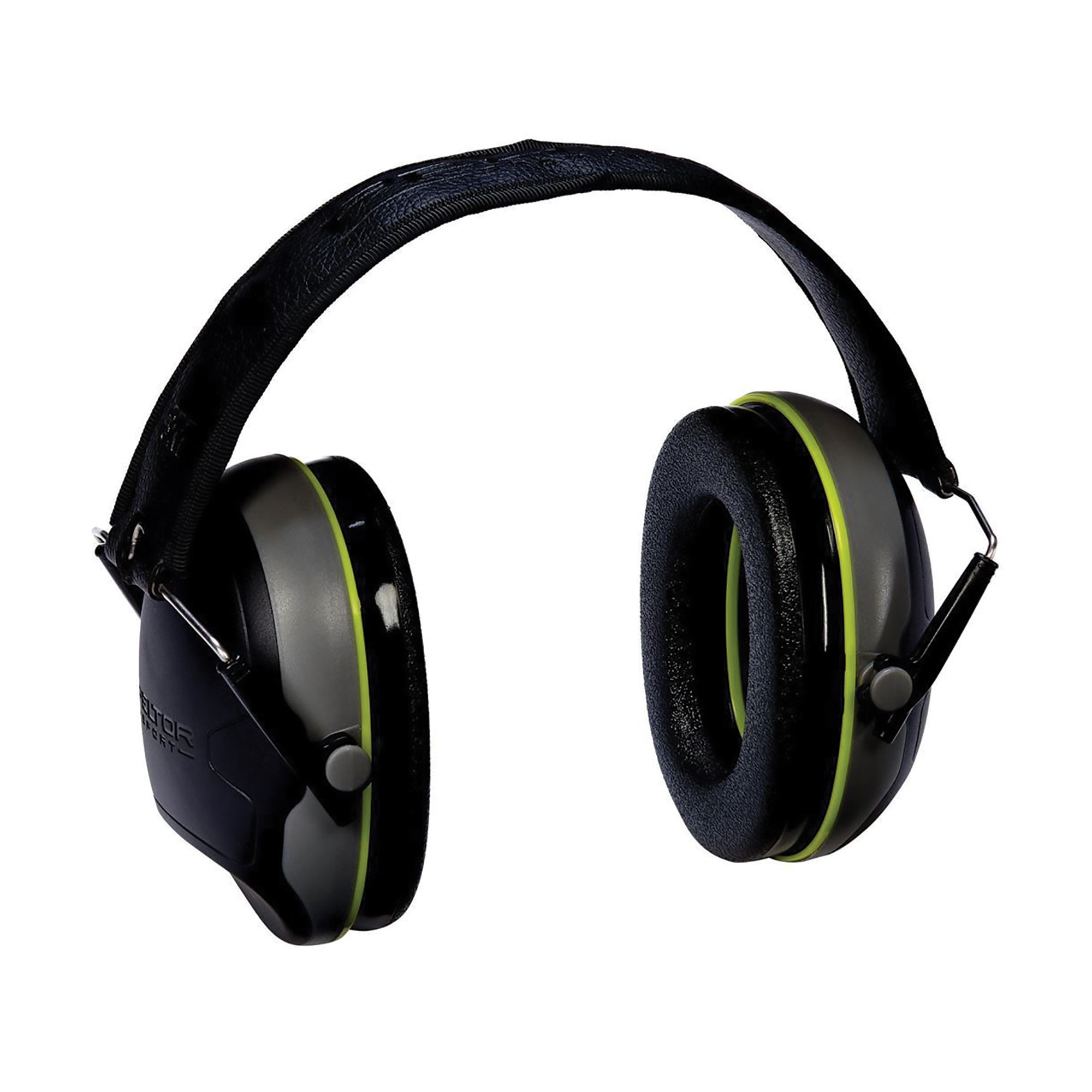 """Featuring low-profile cups with cut-outs"""" the Shotgunner earmuffs are ideal for use with rifles and shotguns. The fully adjustable headband is ergonomically engineered to reduce pressure points."""