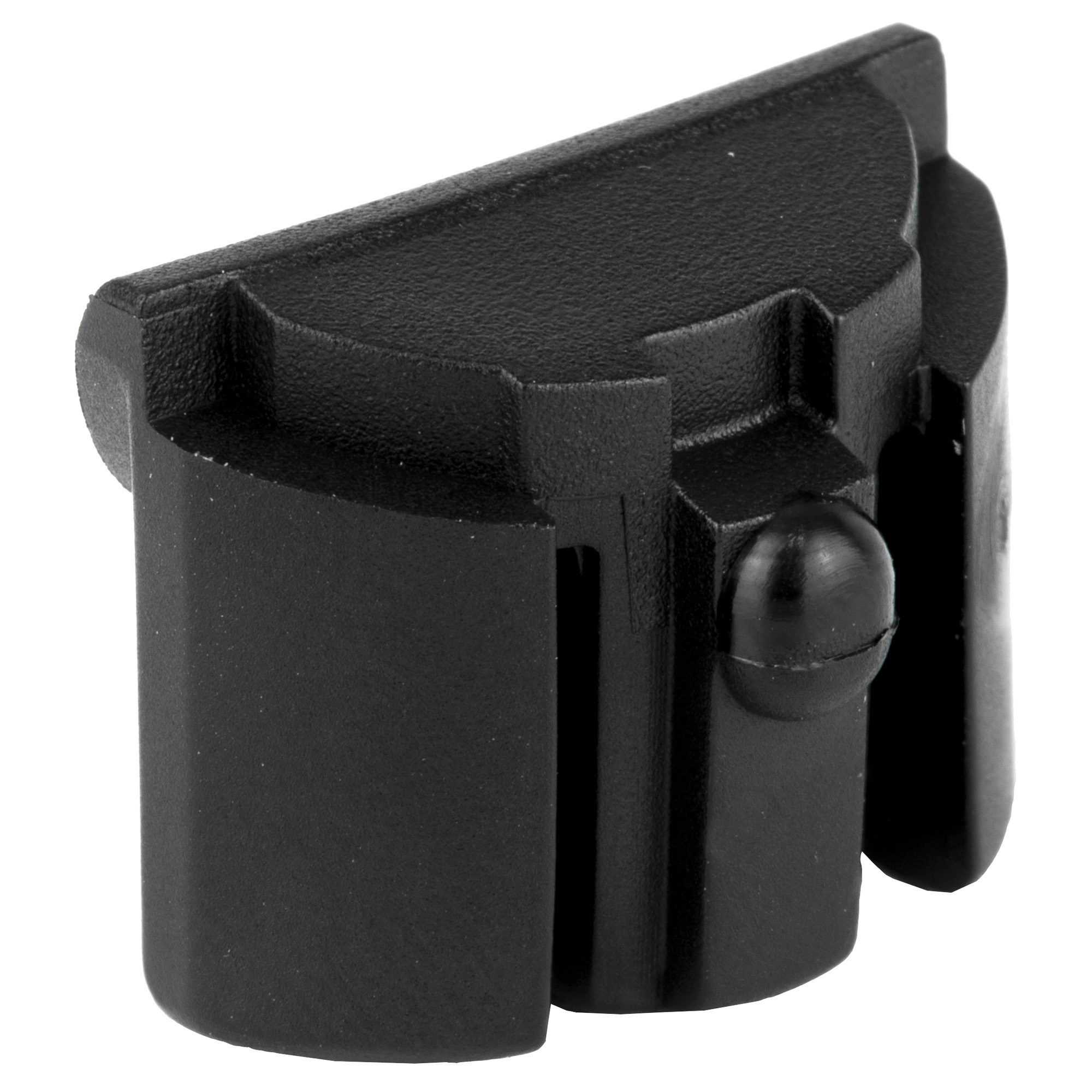 """This unit installs in the bottom rear cavity of the frame utilizing the lanyard hole for retention. Fits model M20"""" 21"""" 40 and 41. This product will only fit Generation 4 frames. Made of a high impact polymer"""" this insert is designed to keep out dust and debris as well as finish off the overall look of the frame. For use with or without the factory interchangeable backstraps."""