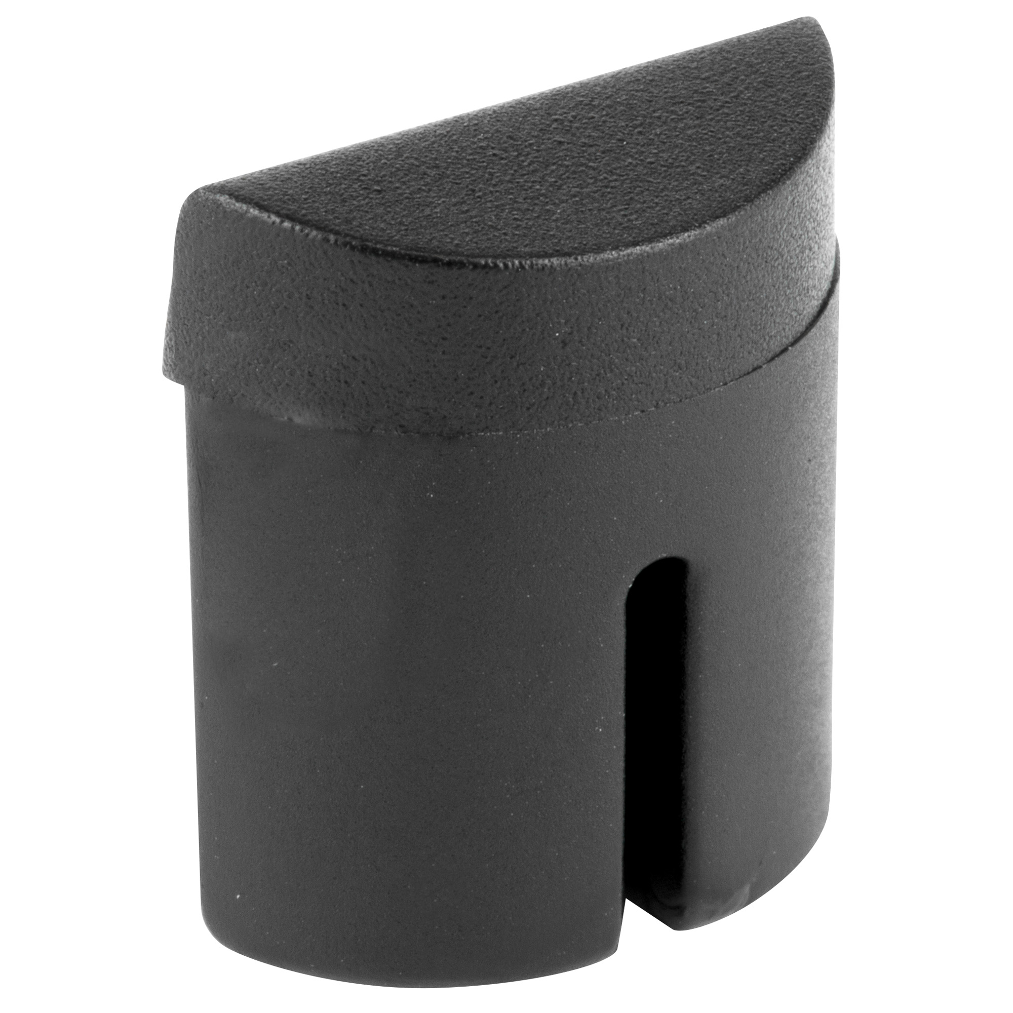 This unit fits in the bottom rear cavity of a Glock 42 & 43 utilizing a friction fit to secure it in the frame.