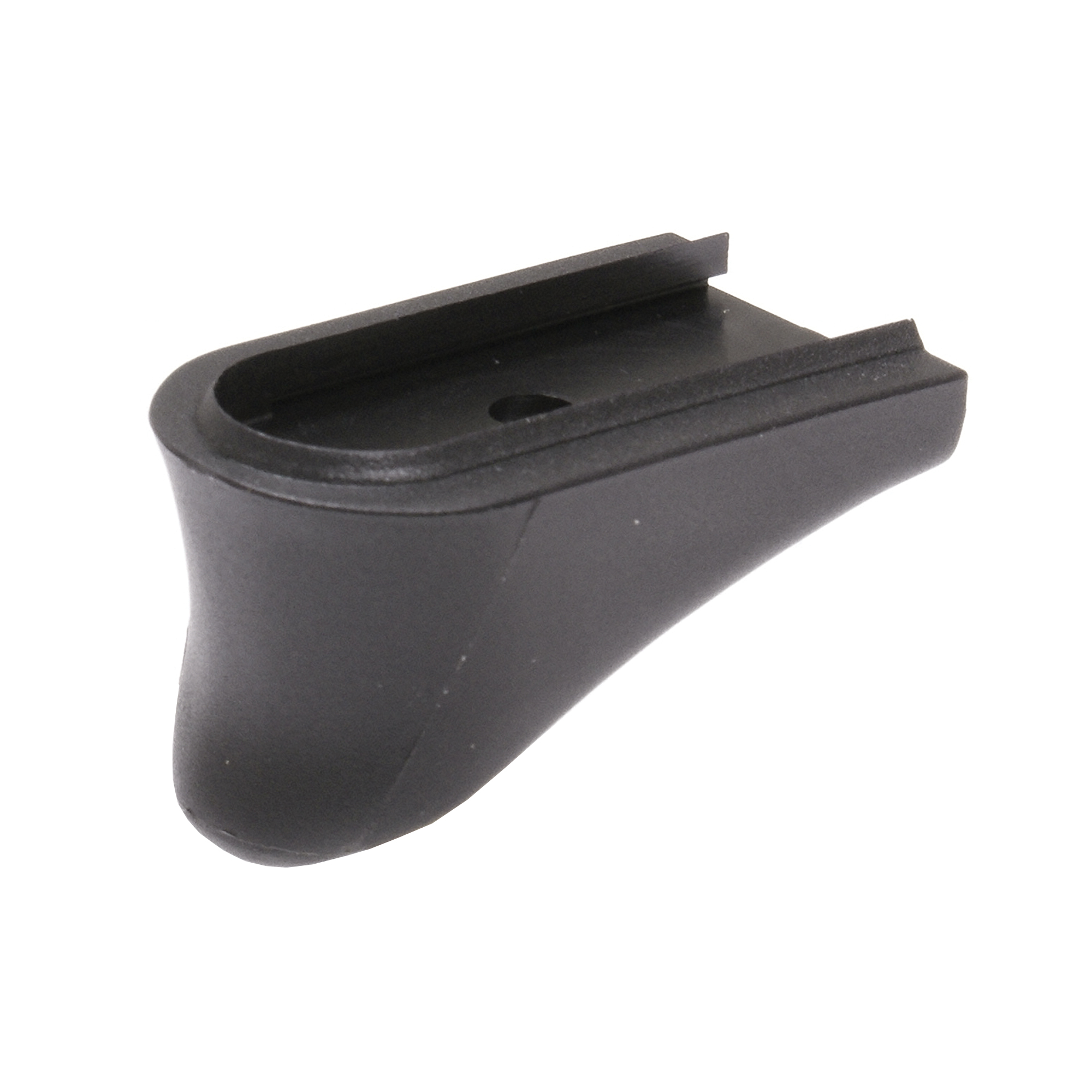 """This unit replaces the magazine base plate on the Springfield XDS/XDE/XDSMOD2 in 45ACP"""" 40 S&W and 9mm single stack magazines. This extension does not alter the capacity of the magazine. It adds approximately 5/8th inch additional gripping surface."""