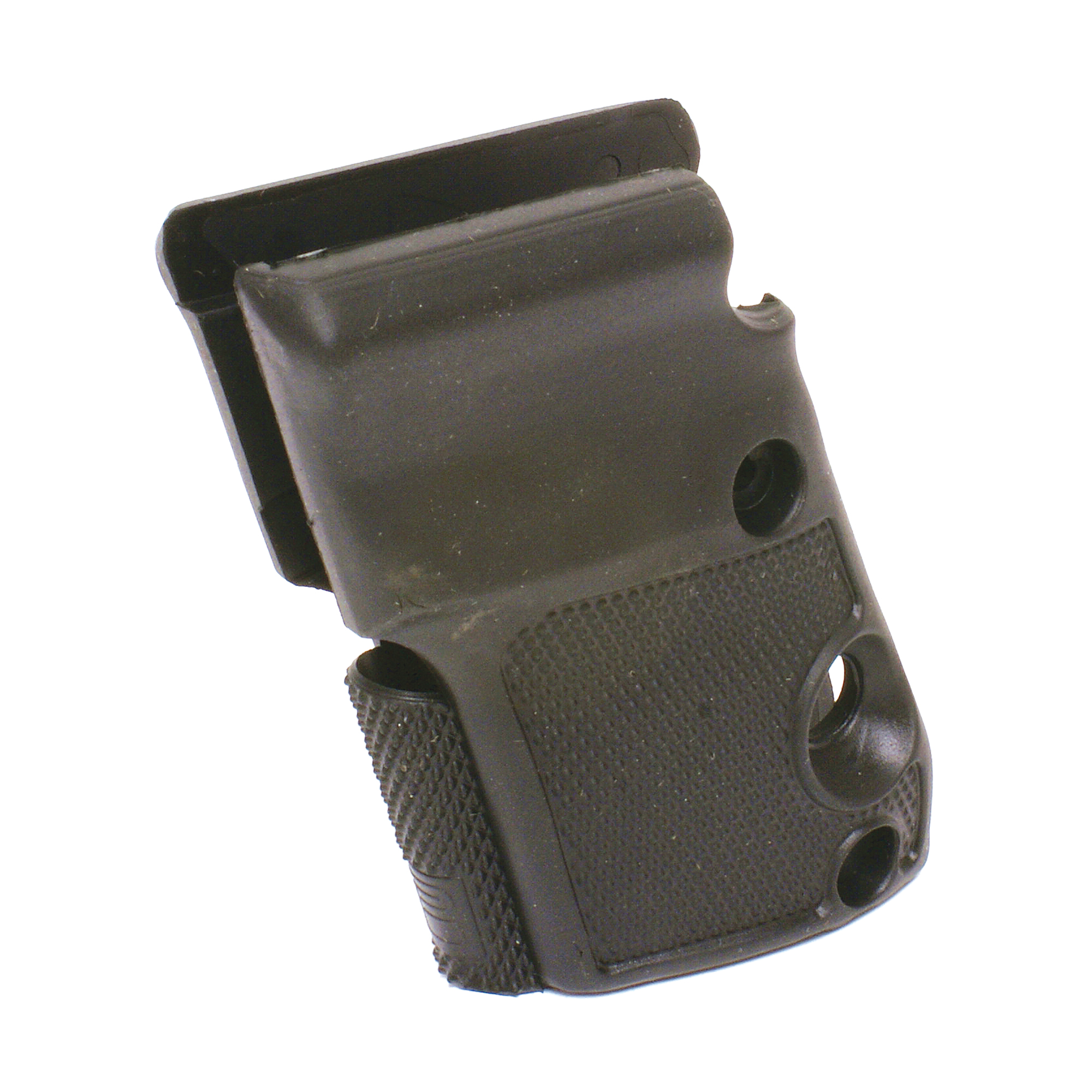 Pearce Grips Beretta Bobcat and Tomcat soft rubber wrap-around grips are made with moderate palm swells and provide a positive hold for the shooter. Fits Beretta 21A/3032 with standard safety. Not for use on Tomcat models equipped with an extended safety lever.