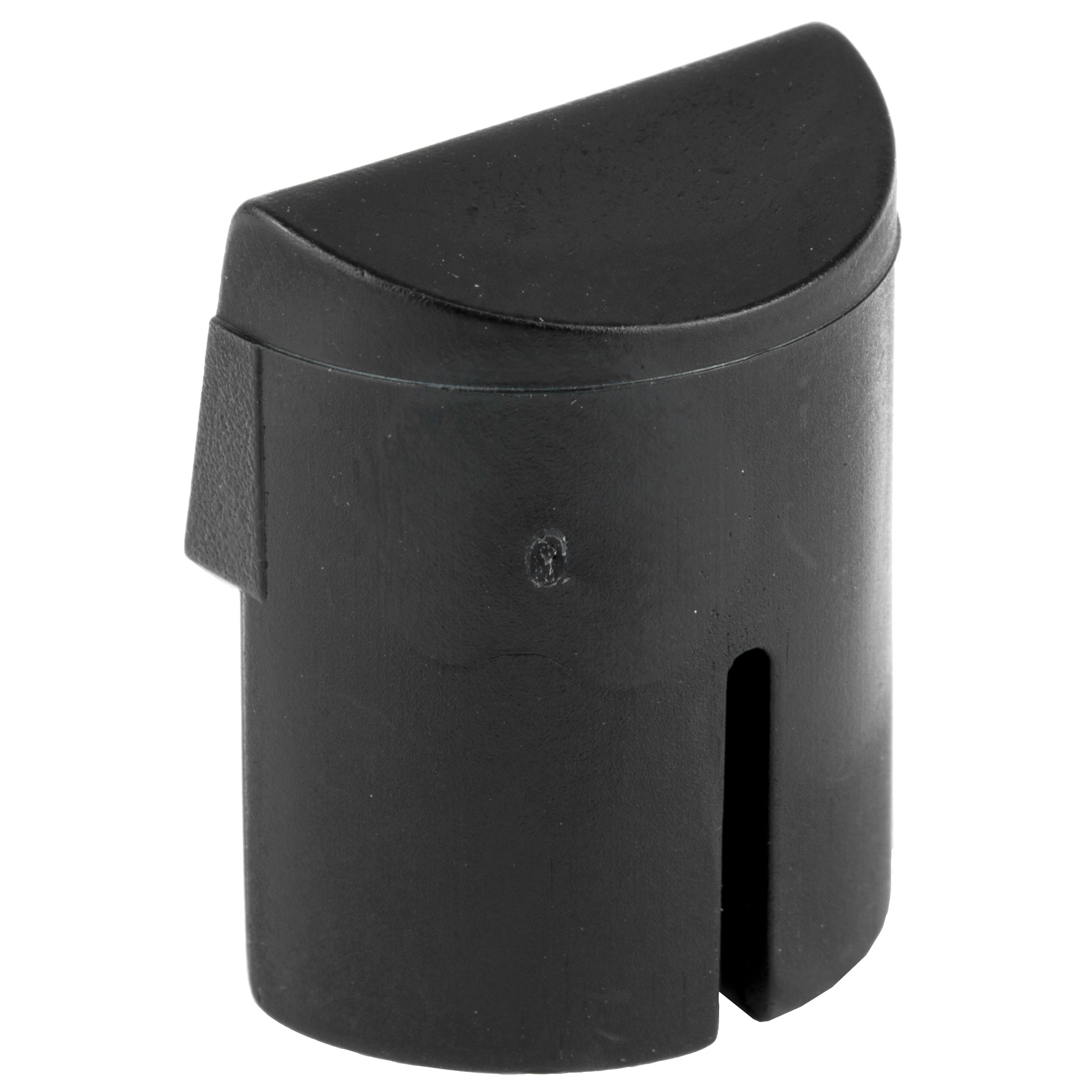 This unit fits in the bottom rear cavity of a Glock M36 utilizing a friction fit to secure it in the frame.