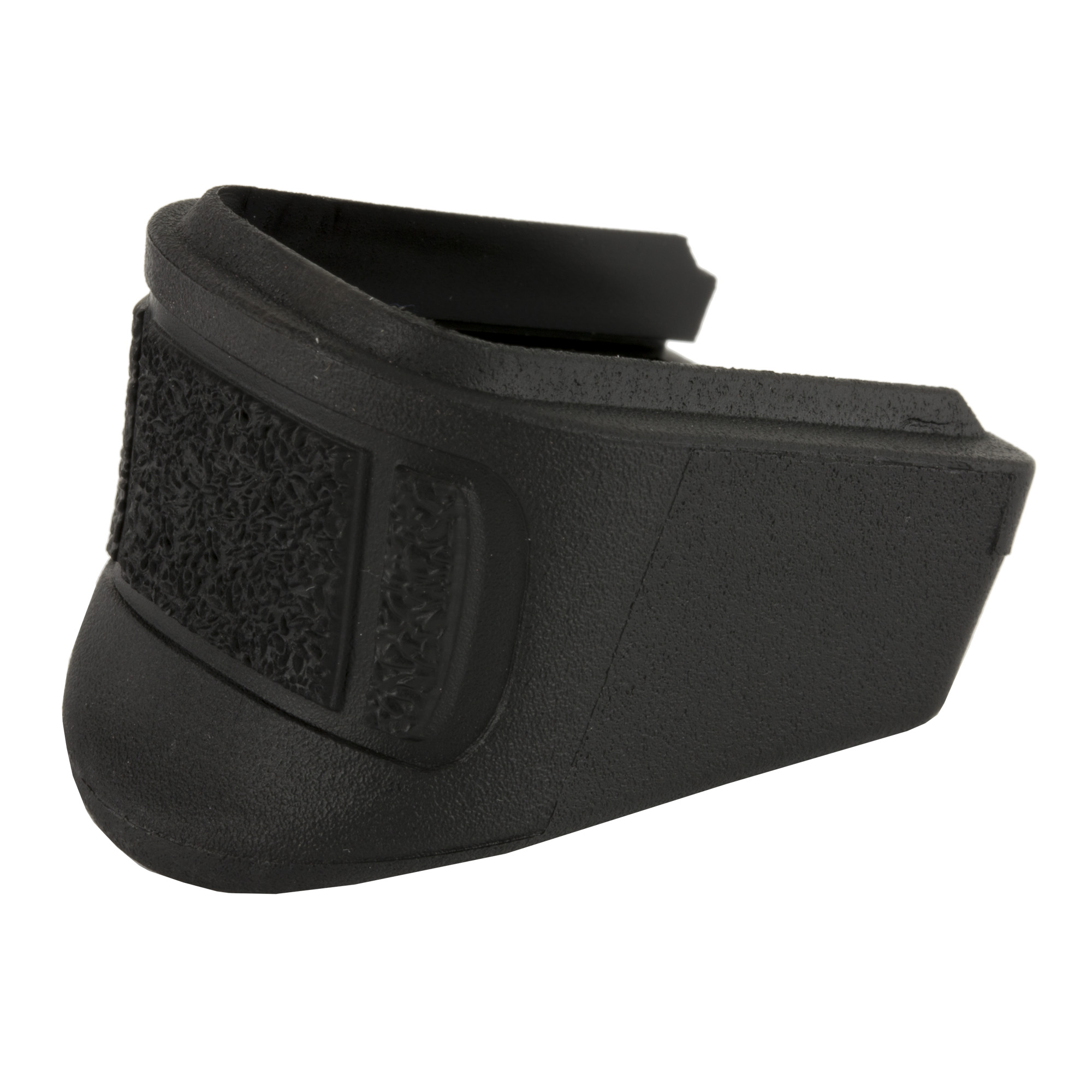 """These units replace the magazine floor plate and internal floor plate on the 9mm (13 round only) and 40 S&W. They will add approximately 1"""" inch in length and additional capacity.(2 rounds to 9mm and 1 round to the 40 cal.)"""