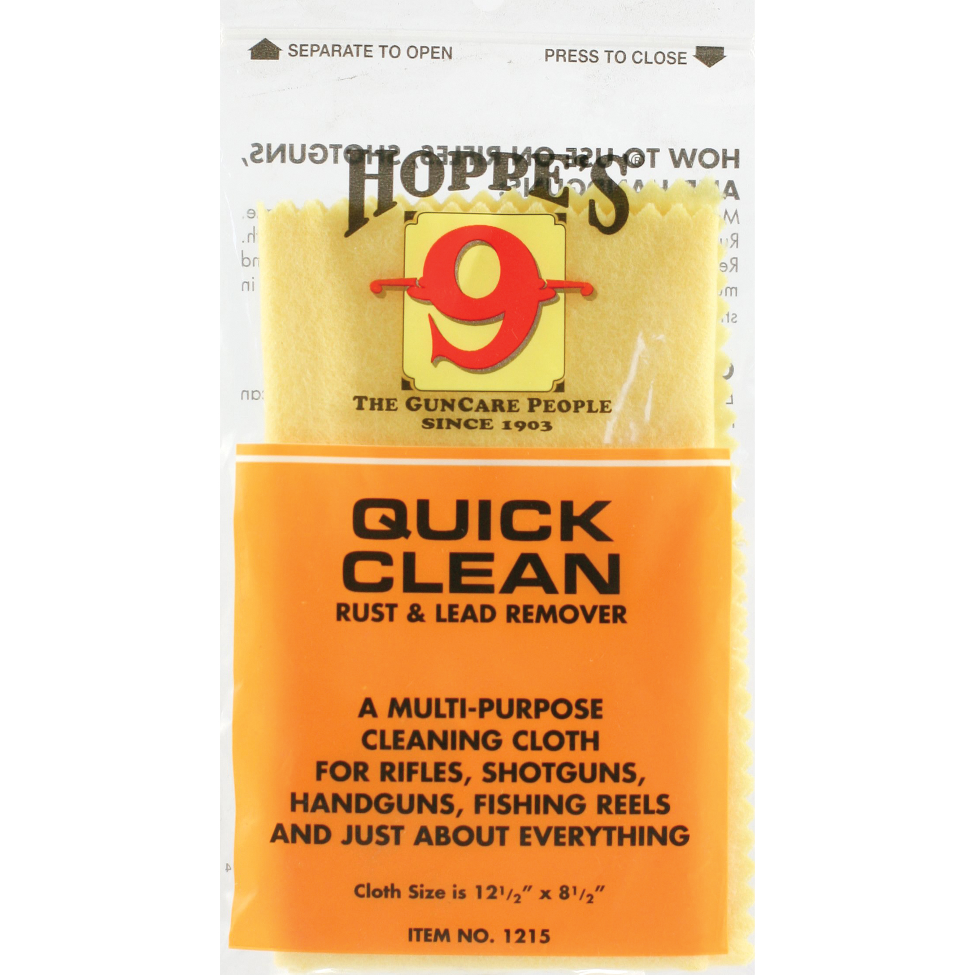 "Hoppe's has become the most trusted name in gun care by advancing and evolving technologies to meet the needs of hunters"" shooters"" and soldiers who depend on their firearms every day. Hoppe's is the only name you need to know for firearm cleaning and protection."