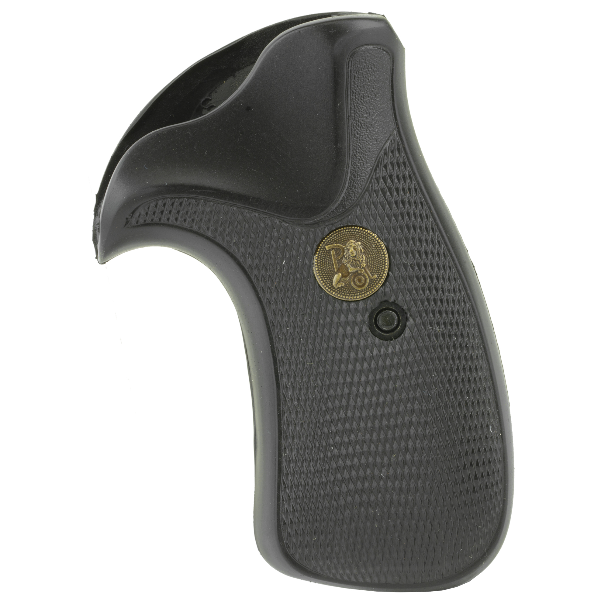 """Pachmayr's Compac grips are made from a specially formulated black rubber compound and are designed to maintain concealability. Although compact in design"""" Compac grips still give a shooter total control. Compac grips provide a secure"""" non-slip finish."""