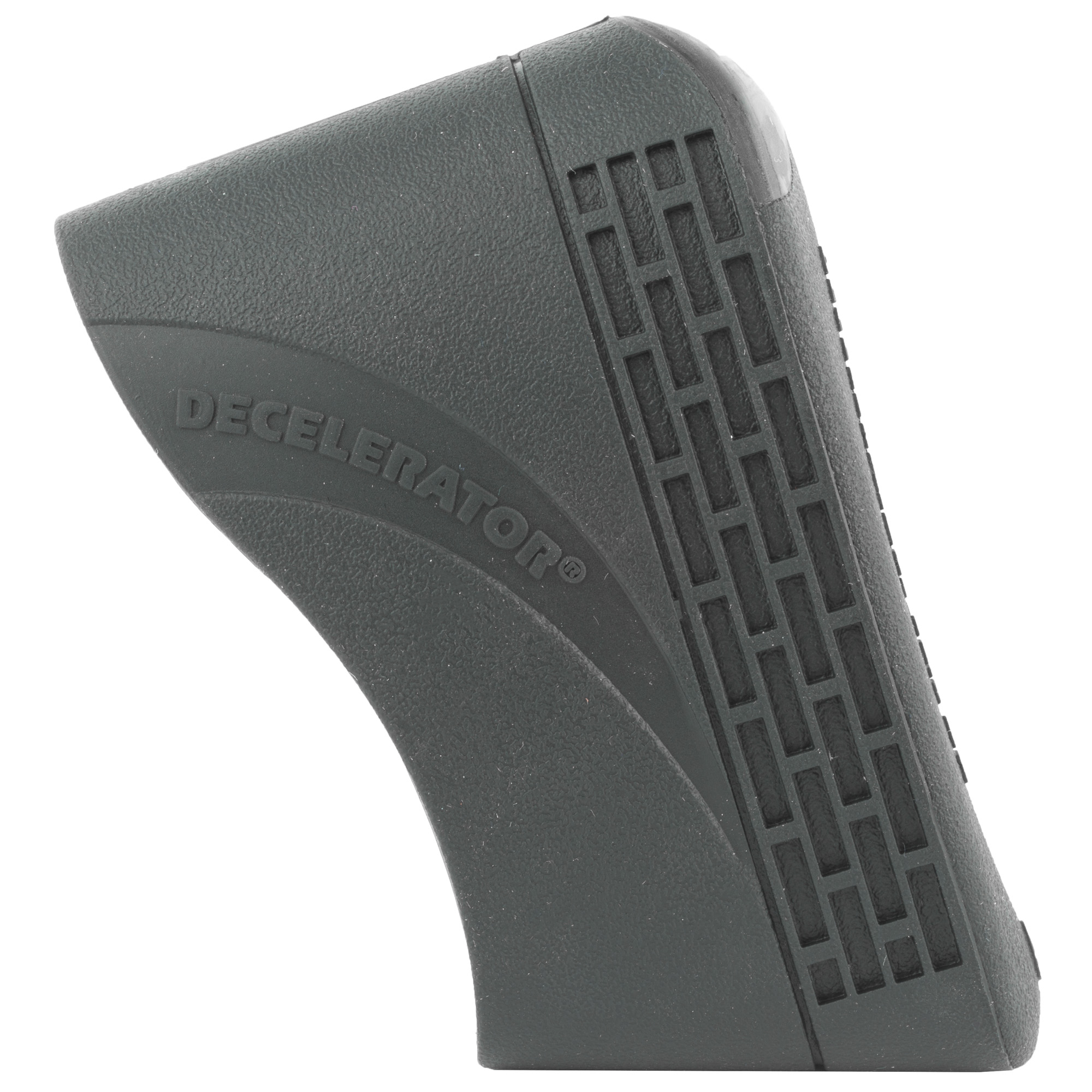 """Slip-On Pads fit most stocks. Easy to install"""" these pads offer excellent recoil absorption. Pads come in two different sizes"""" and are available in black or brown"""" to complement any style stock. Pads add 3/4"""" to the length of pull."""