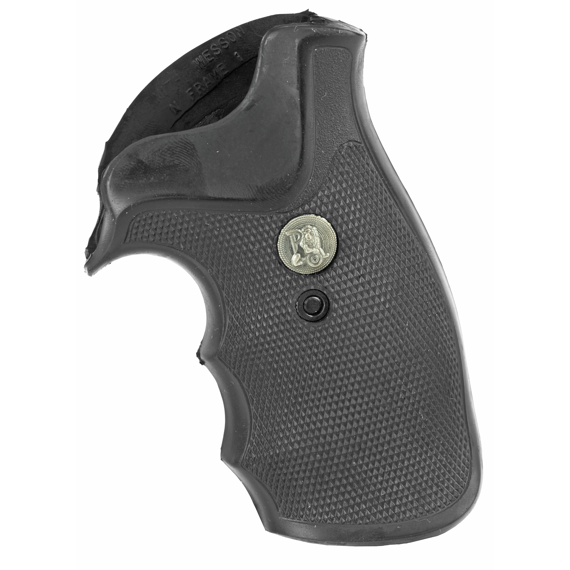 """All guns recoil"""" and recoil affects your accuracy"""" control"""" and overall shooting enjoyment. For those shooters who want the most out of their shooting experience"""" Pachmayr offers the Decelerator Grips. After years of research"""" Pachmayr has developed this breakthrough rubber material - 50% softer than a regular grip. The New Finger Groove Decelerator Grip is designed to control the recoil produced by a powerful revolver. Combined with recoil absorbing air cushions along the backstrap"""" this revolver grip is ideal for shooters that require the ultimate control and shooting comfort."""