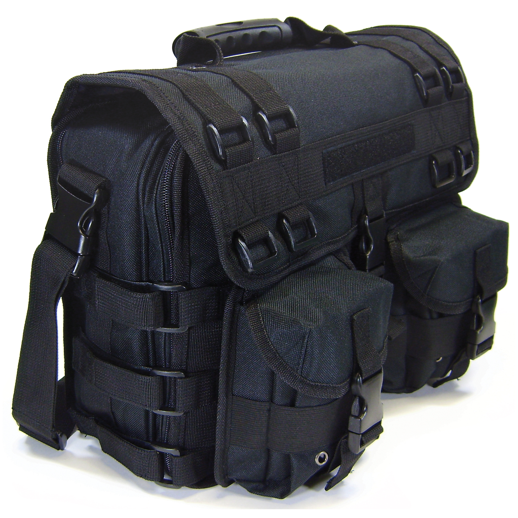 """Constructed of 600D poly materials with double coated PVC lining for strength and durability. This is your ultimate briefcase"""" range bag"""" gear bag or overnight bag!"""