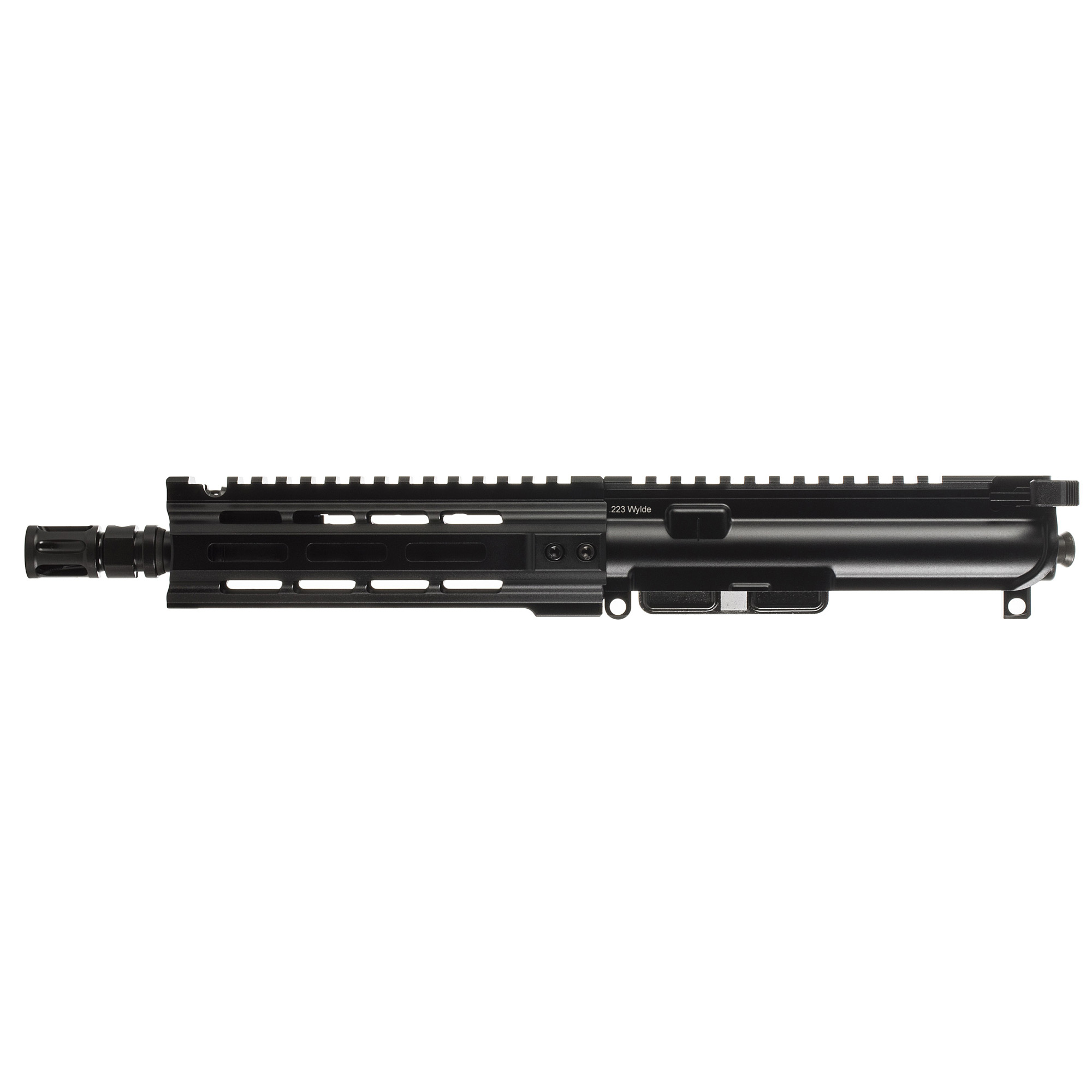 "The MK1 MOD 1-M line"" revamped for 2018"" features the PWS long stroke piston system. Internally"" this line offers the tried and true system that PWS owners have grown to know and love. Featuring a free-float MLOK handguard"" forward assist controls"" and a more true to mil-spec design"" the MK1 MOD 1-M line is a go-to for not only civilians"" but also Law Enforcement. With the fully forged upper and lower receivers"" the MK1 MOD 1-M is a no-nonsense tool for when you need a high value option that is relentless and unstoppable. The shortest available option in the MK1 MOD 1-M series"" the MK107 was the first firearm developed by PWS. Known as ""The Diablo"""" the MK107 was designed to replace MP5 style weapons. Used heavily in law enforcement and SWAT settings"" the MK107 has been a vital part in the growing use of SBRs as patrol rifles."