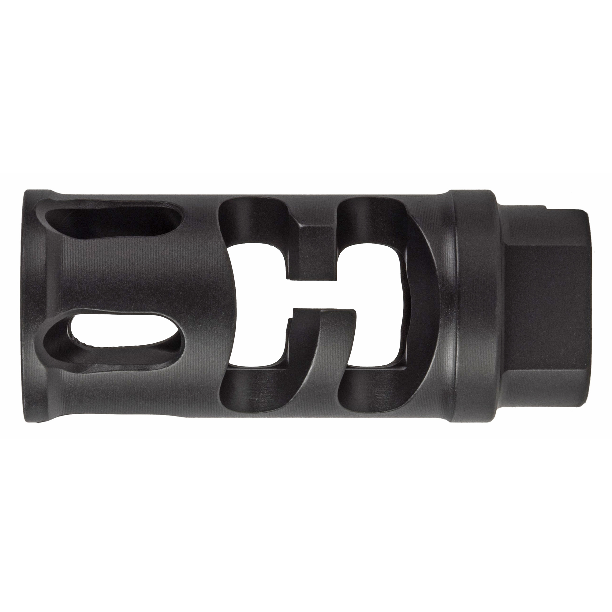 "The patented FSC compensator was designed to be an effective compensator for shooters in all situations. Offering recoil reduction as a primary function"" and flash suppression as a secondary function"" the FSC is one of the most popular PWS compensators on the market. The unique port designs effectively keep flash out of optics and line of sight"" while also reducing the distracting overpressure that is felt with many compensators."